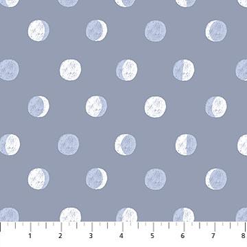 Celestial Moon Phases-Blue