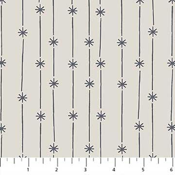 Celestial Star Stripes-Beige
