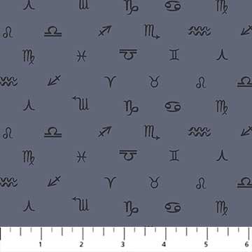 Celestial Symbols in Gray