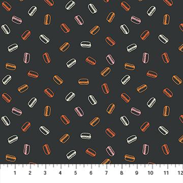 Hot Dogs/Black Multi: Squeeze (Dana Willard)