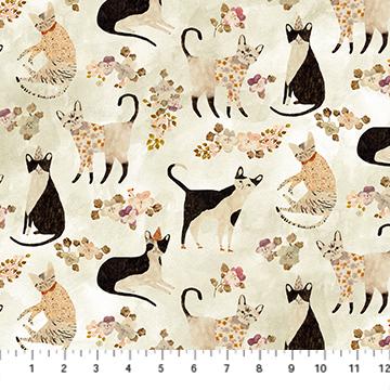 Marcel Multi Beige Cats DP90289-11