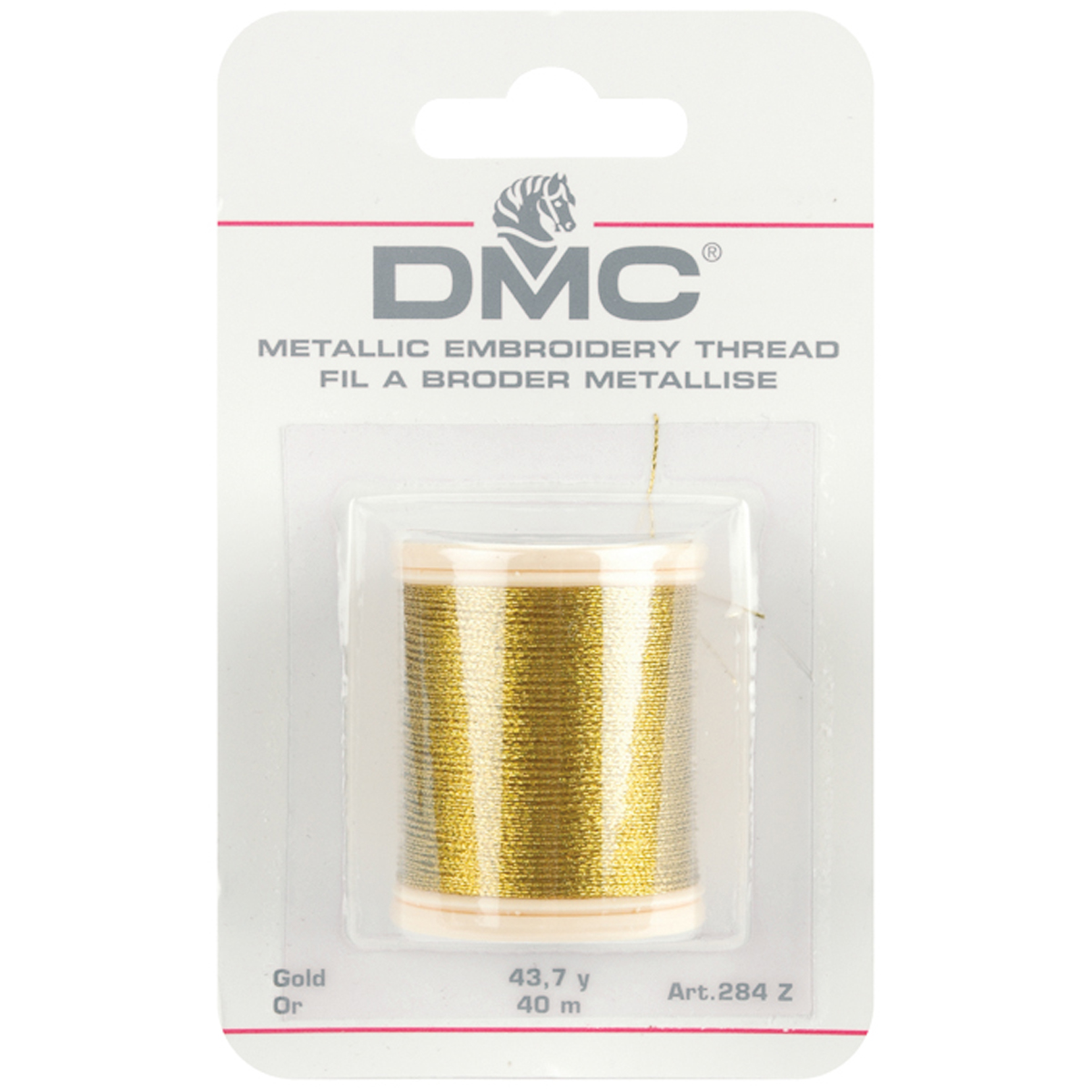 DMC Metallic Embroidery Thread 43.7yd-Gold