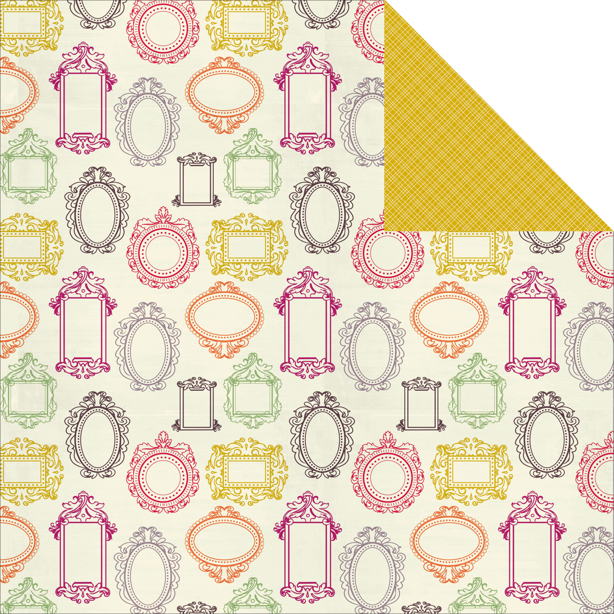 Flora Delight Double-Sided Paper 12X12-Decorate