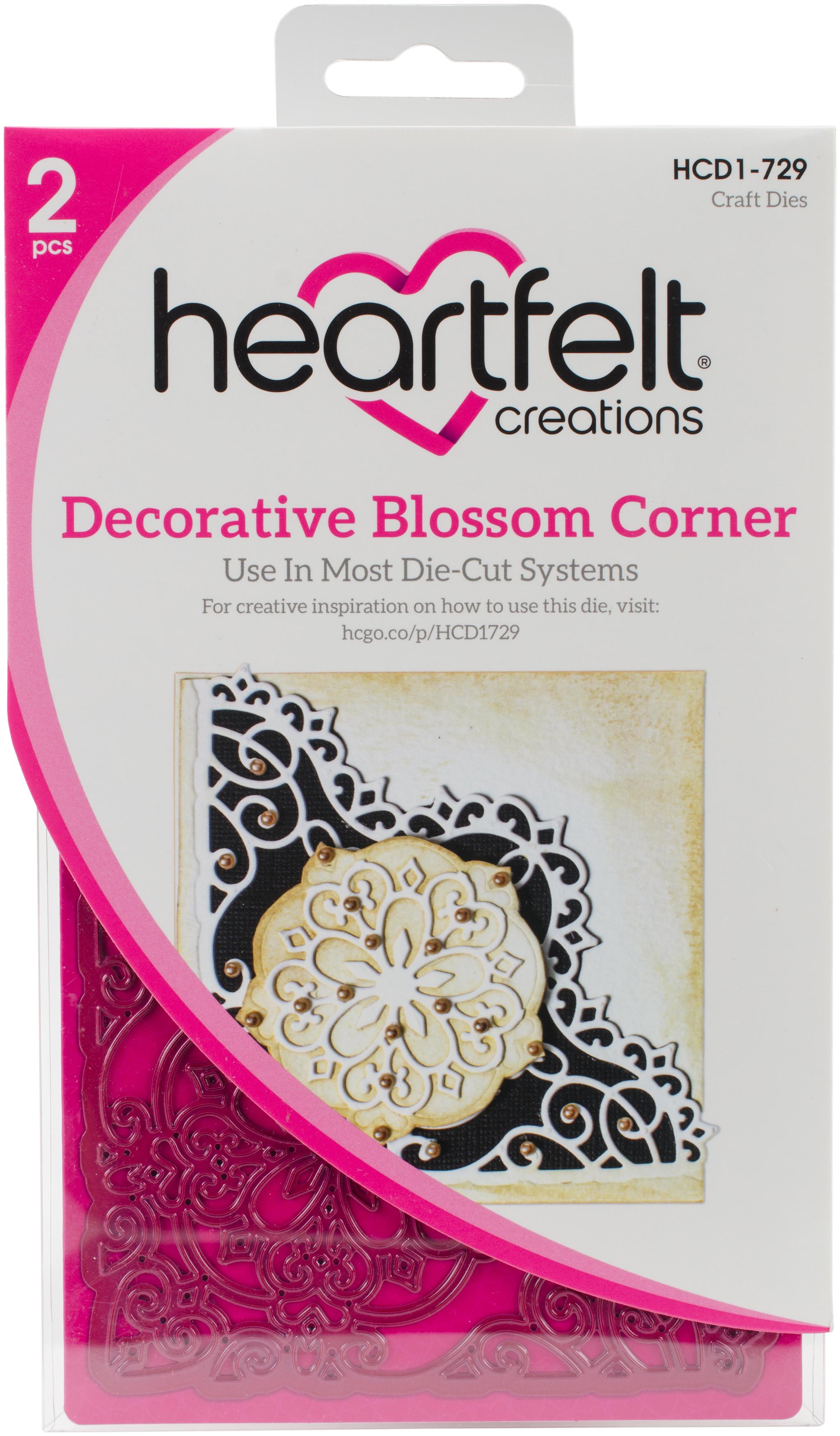 Heartfelt Creations Decorative Blosson Corner Die