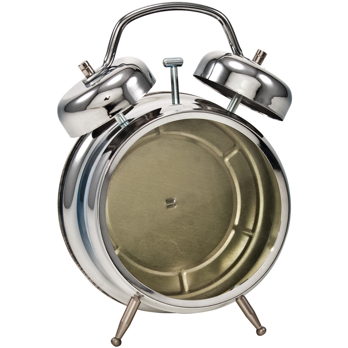 Idea-Ology Metal Assemblage Clock 7X4.5-Polished Silver
