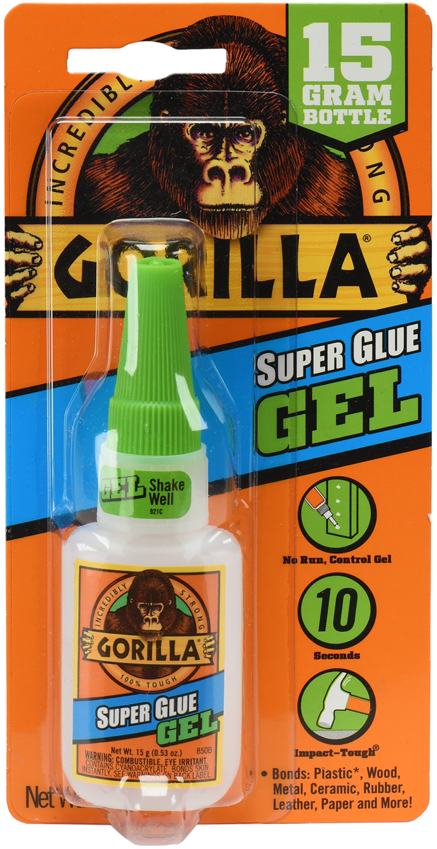 Gorilla Super Glue Gel -.53oz