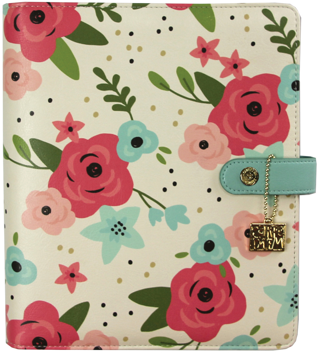 Carpe Diem A5 Planner Boxed Set-Cream Blossom, Bloom