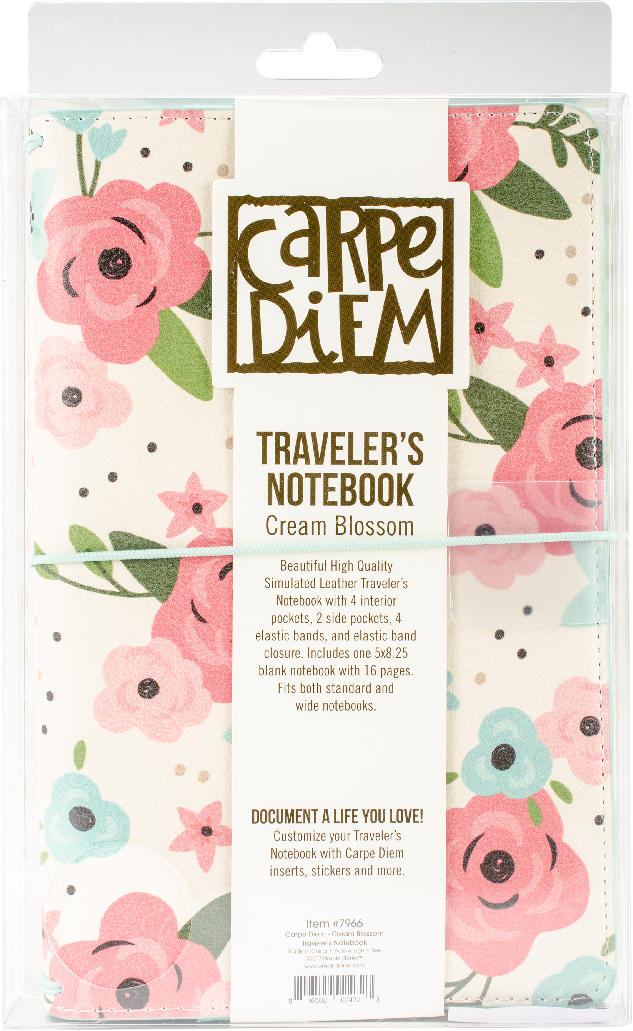 Carpe Diem  Travler's Notebook