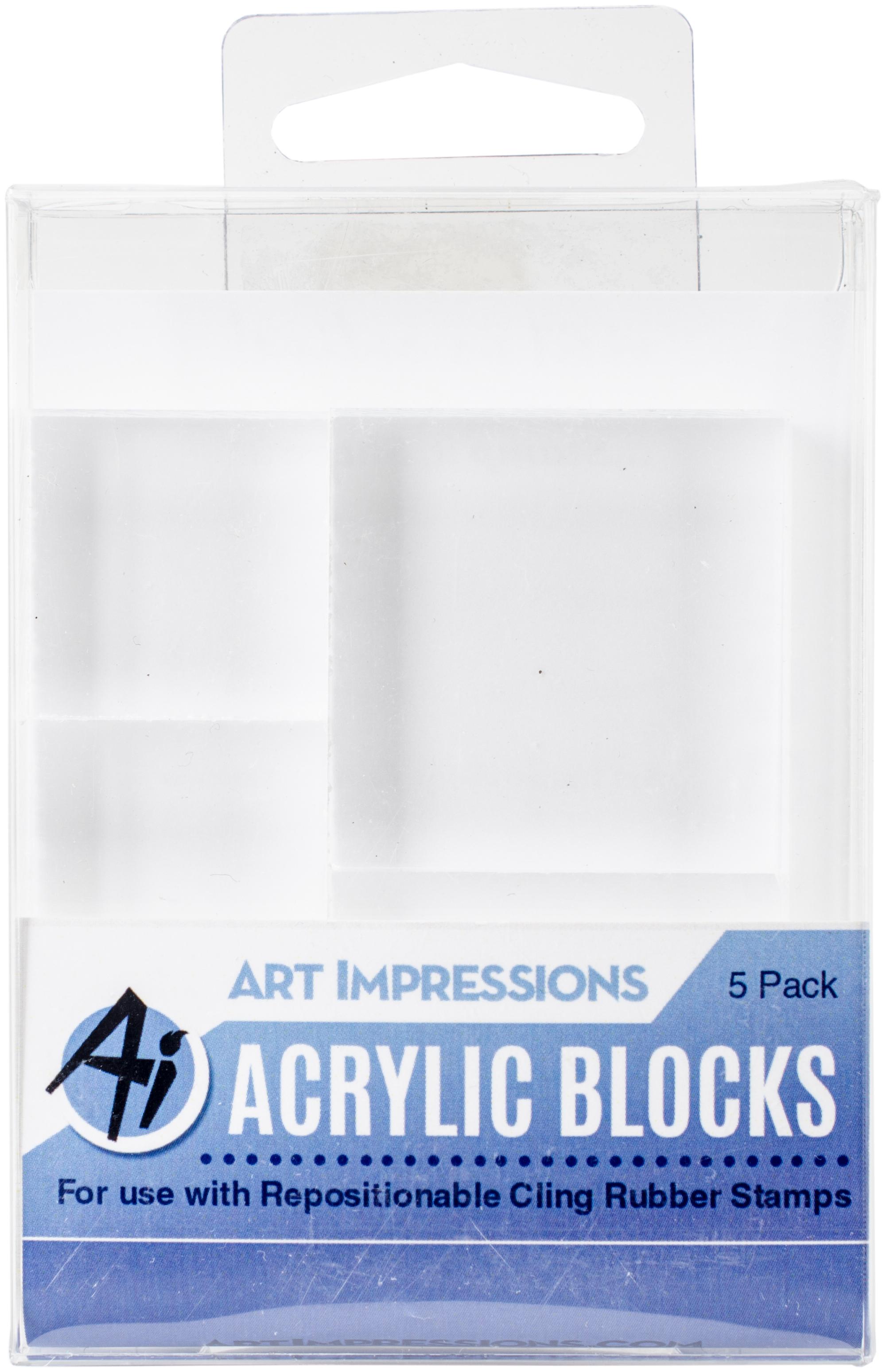 Art Impressions Acrylic Block Set -