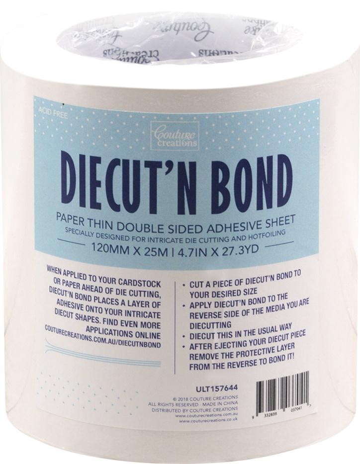 Diecut' N Bond Double-Sided Tape Clear