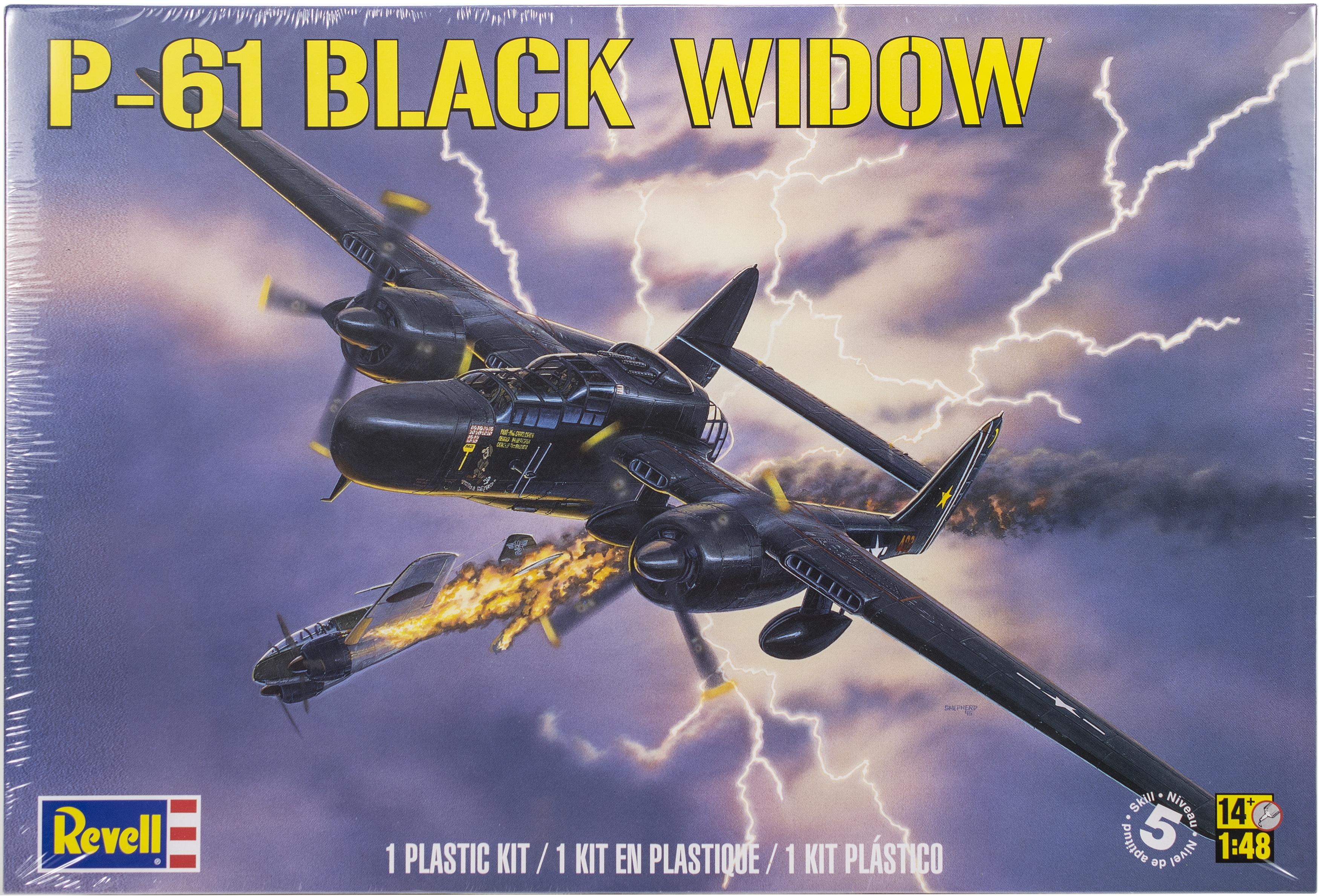 Plastic Model Kit-P-61 Black Widow 1:48