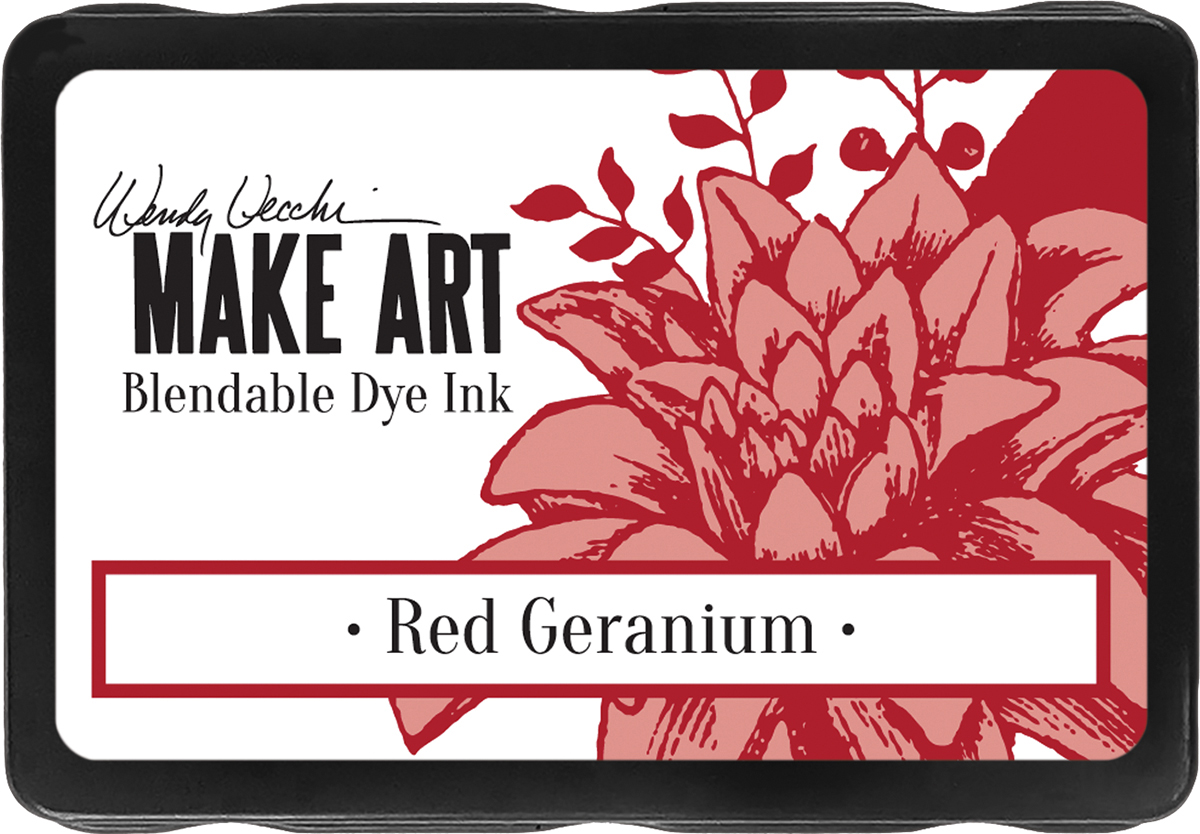 WV Red Geranium Ink