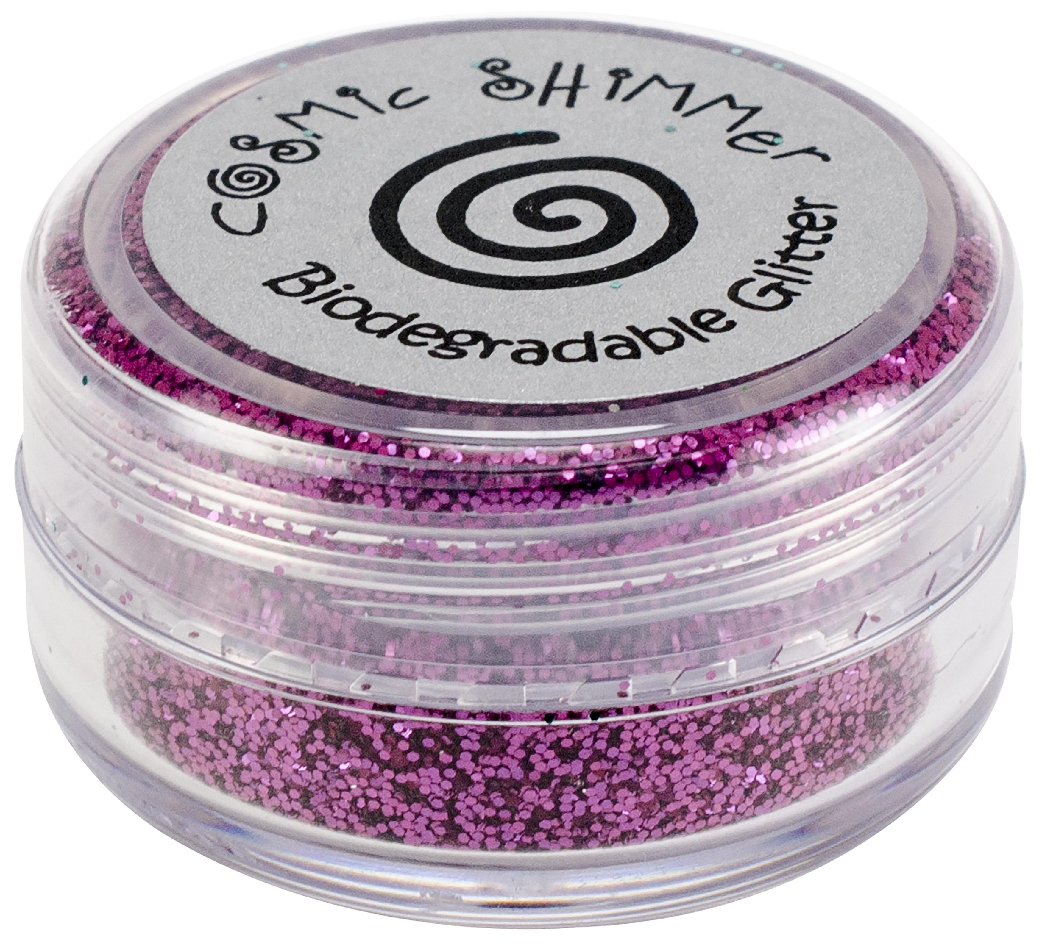 Cosmic Shimmer Biodegradable Glitter 10ml-Fuchsia
