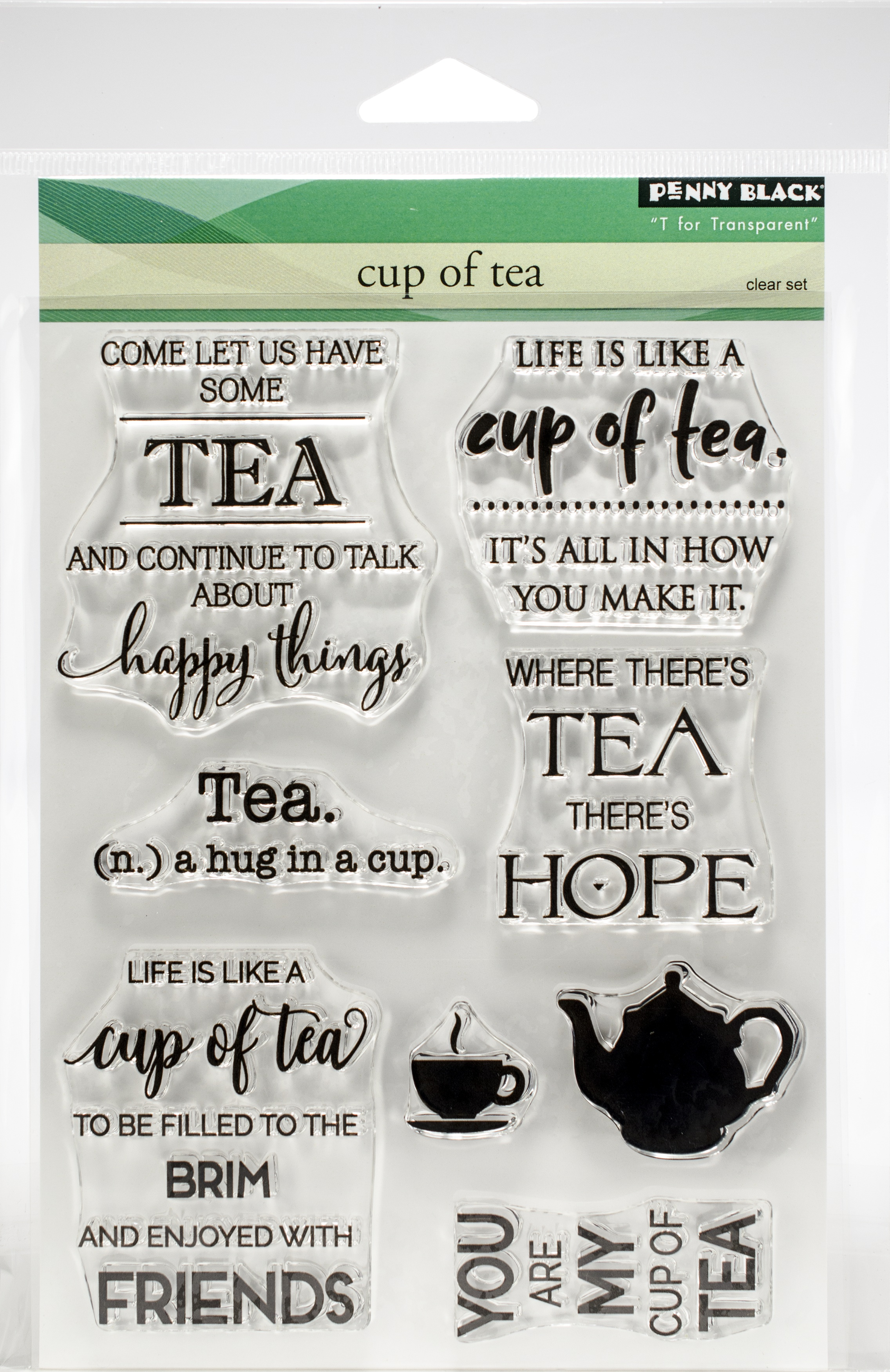 Penny Black Clear Stamps-Cup Of Tea