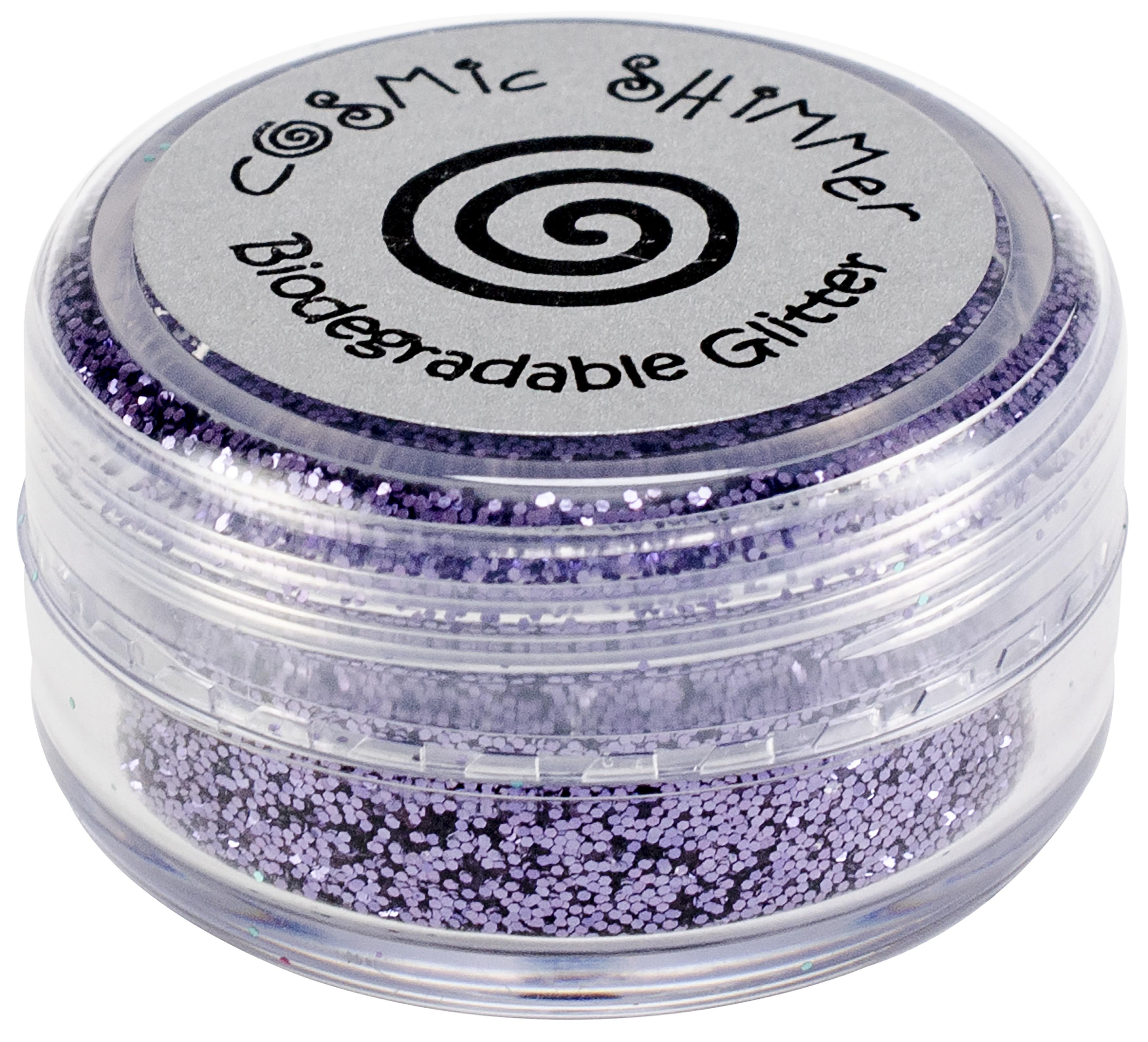 Cosmic Shimmer Biodegradable Glitter 10ml-Lilac Mist