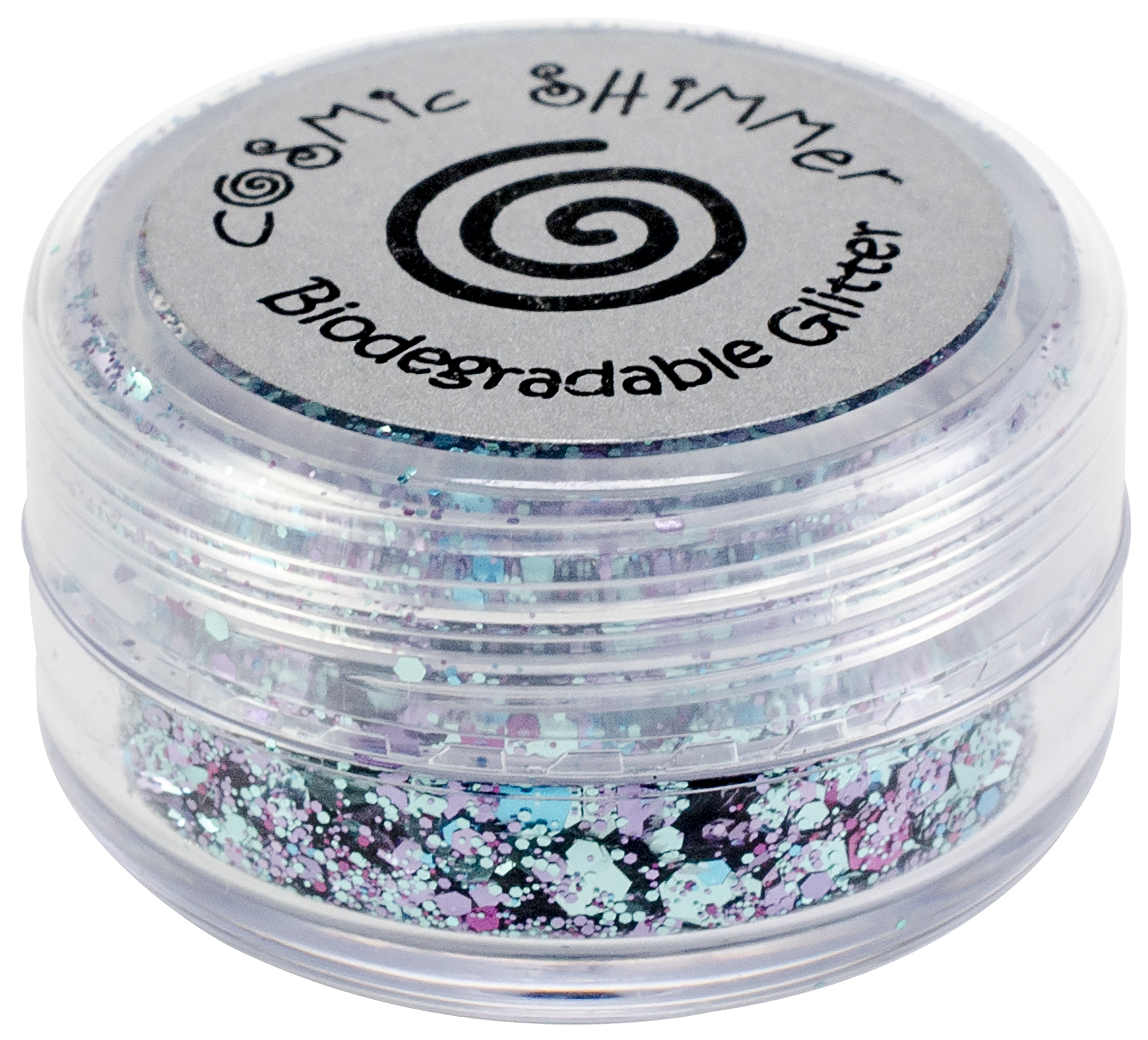 Cosmic Shimmer Biodegradable Glitter 10ml-Blue Opal