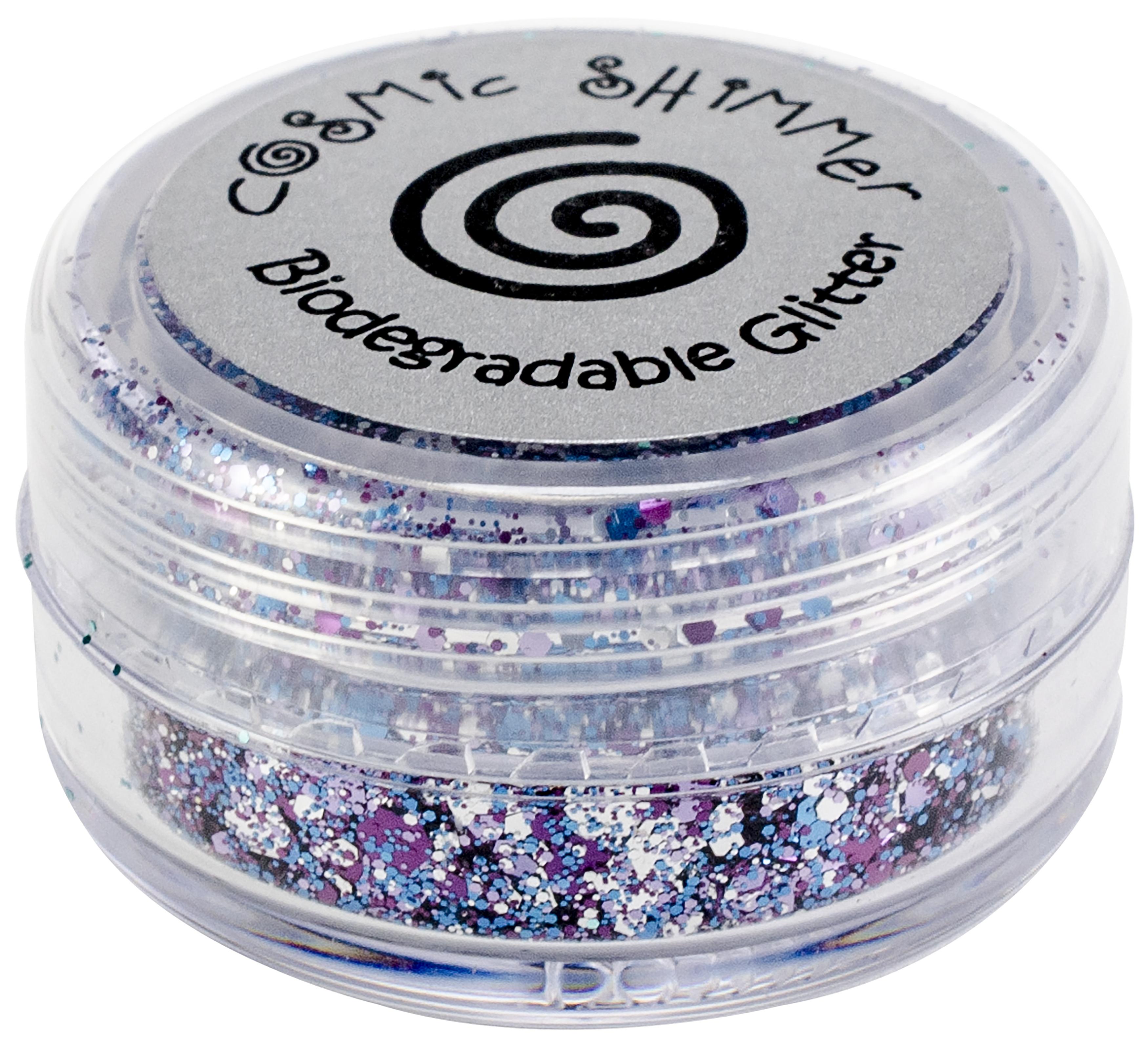 Cosmic Shimmer Biodegradable Glitter 10ml-Violet Dream