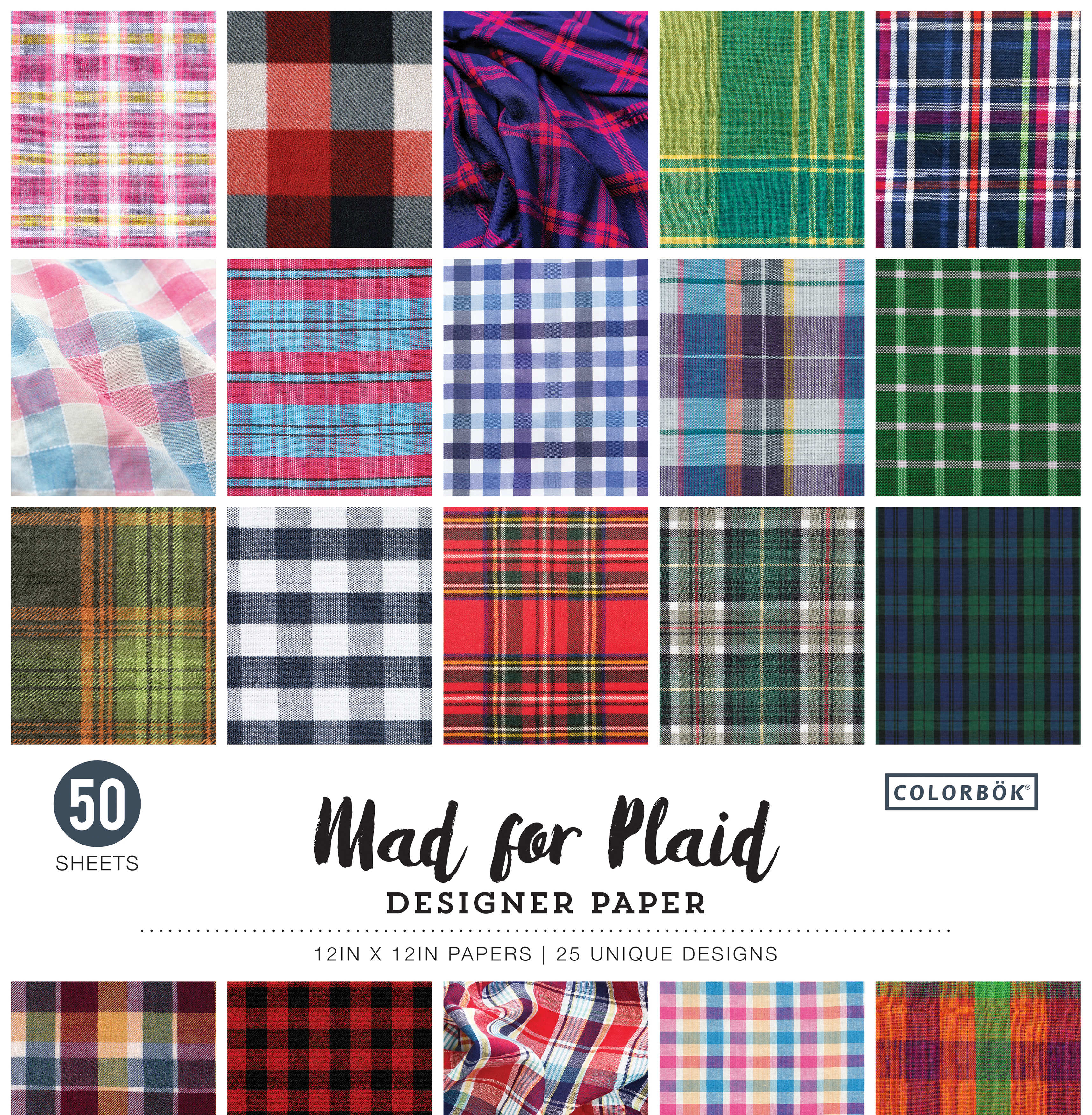 Mad for Plaid Paper Pack