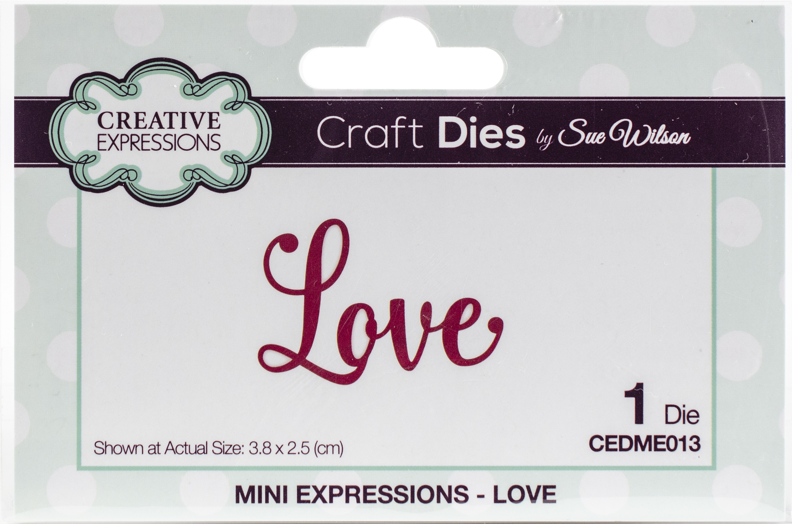 Creative Expressions - Mini Expressions Dies - Love