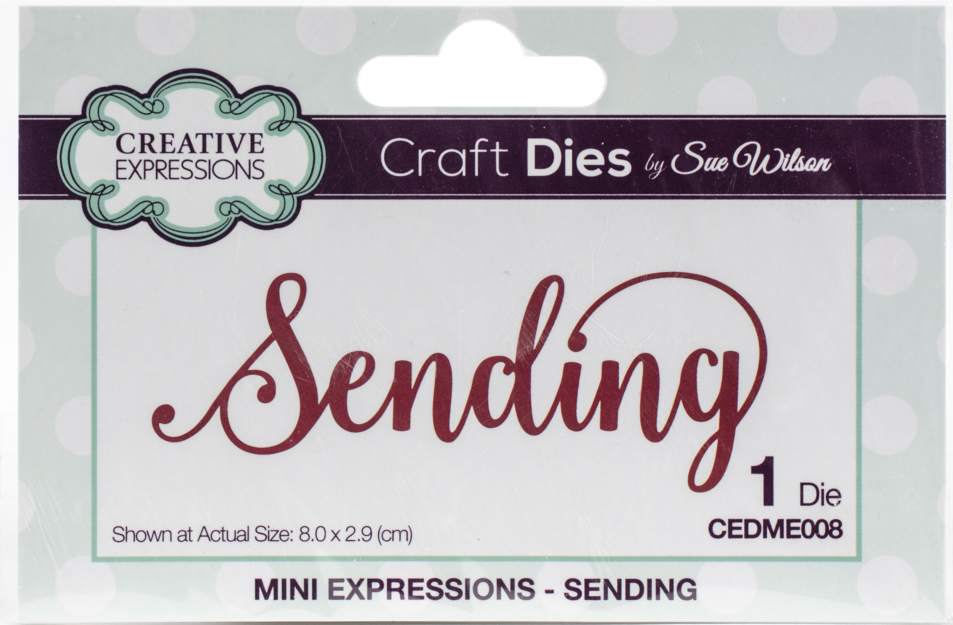 Creative Expressions Craft Dies By Sue Wilson-Sending
