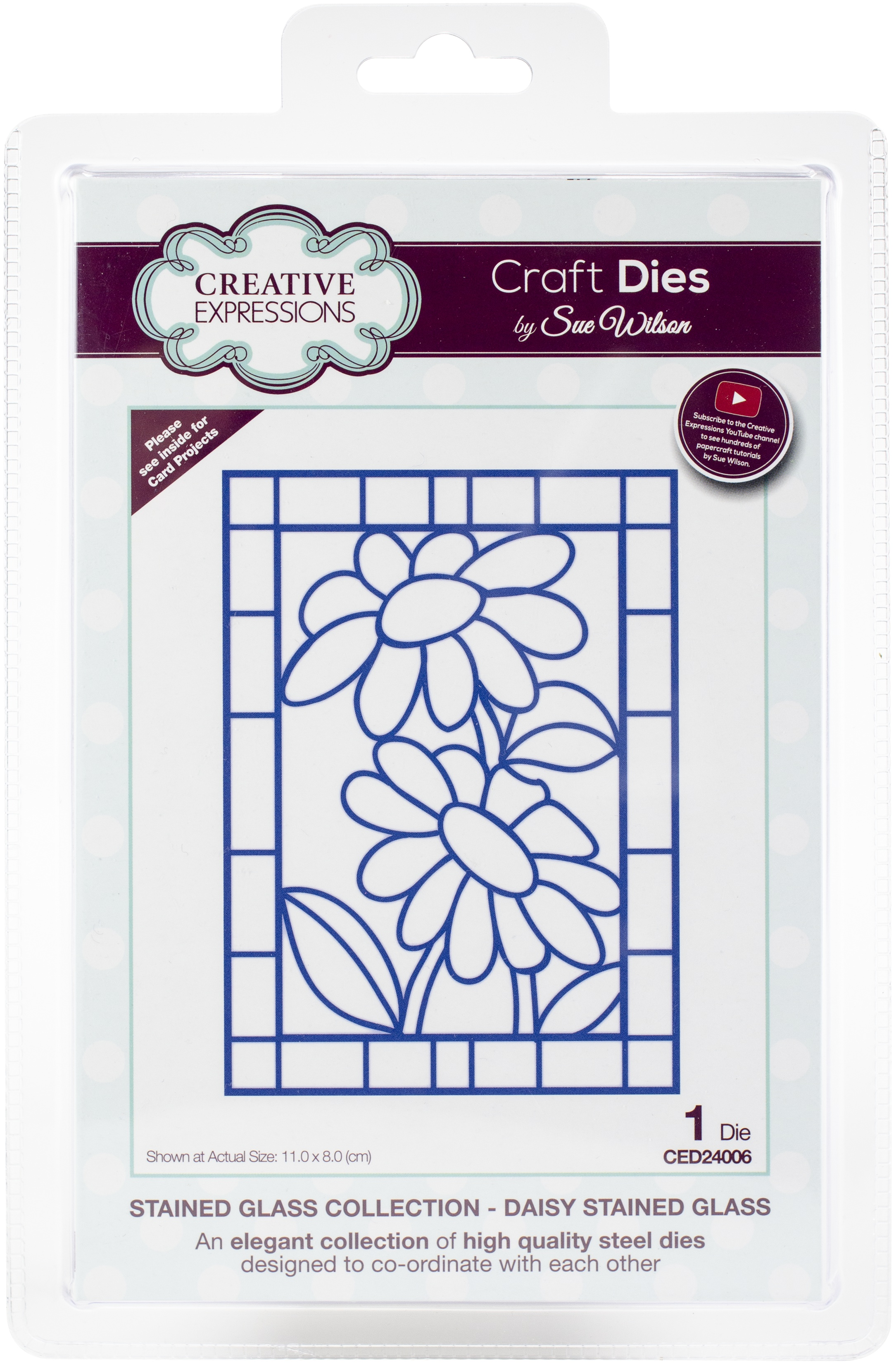 Creative Expressions Craft Dies By Sue Wilson-Daisy