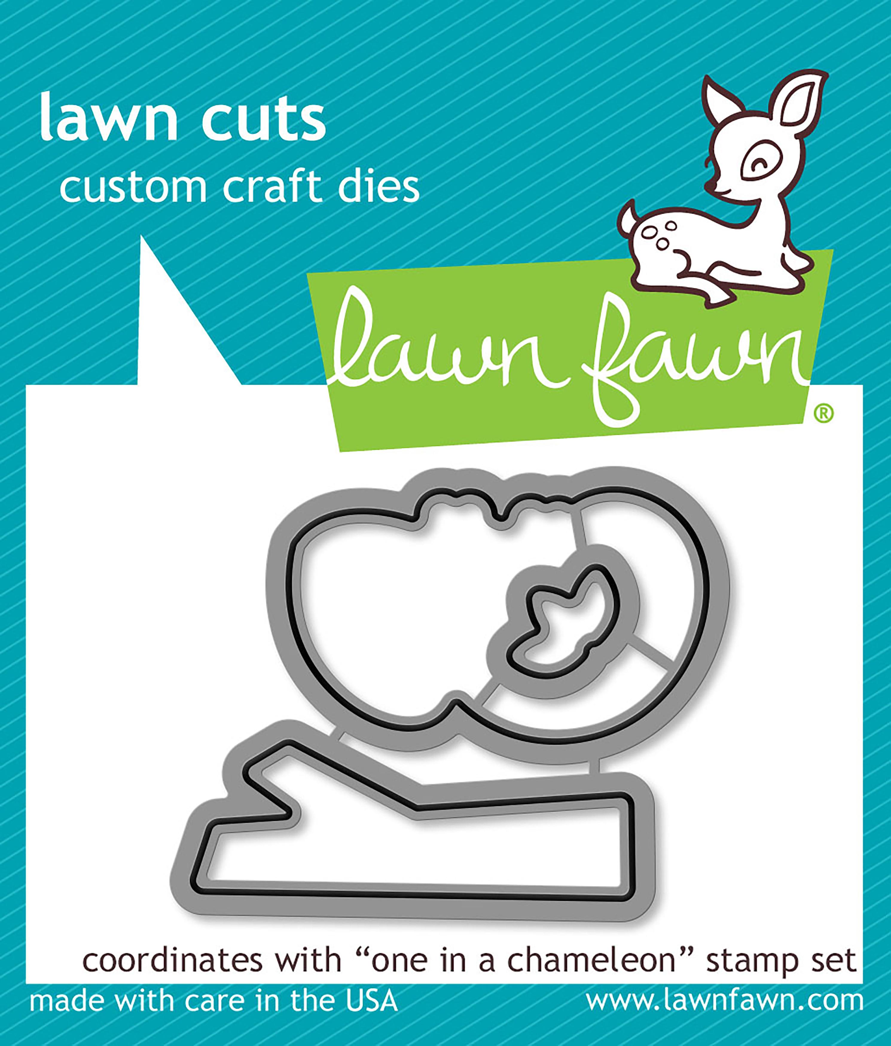 Lawn Cuts Custom Craft Die-One In A Chameleon
