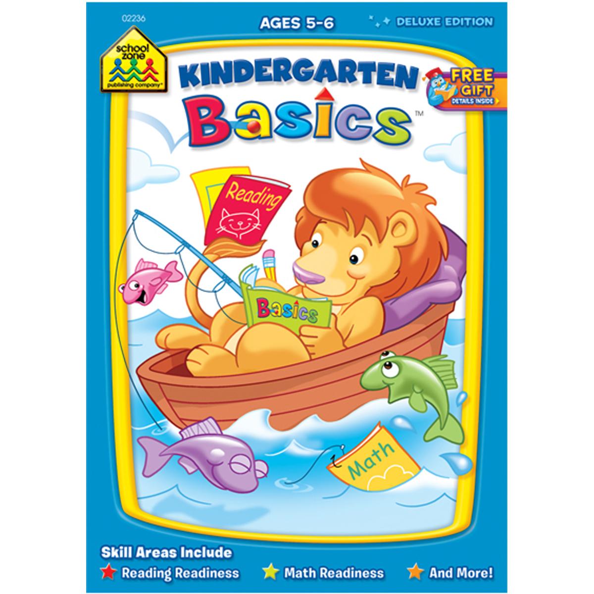 Deluxe Basics Workbook-Kindergarten - Ages 5-6