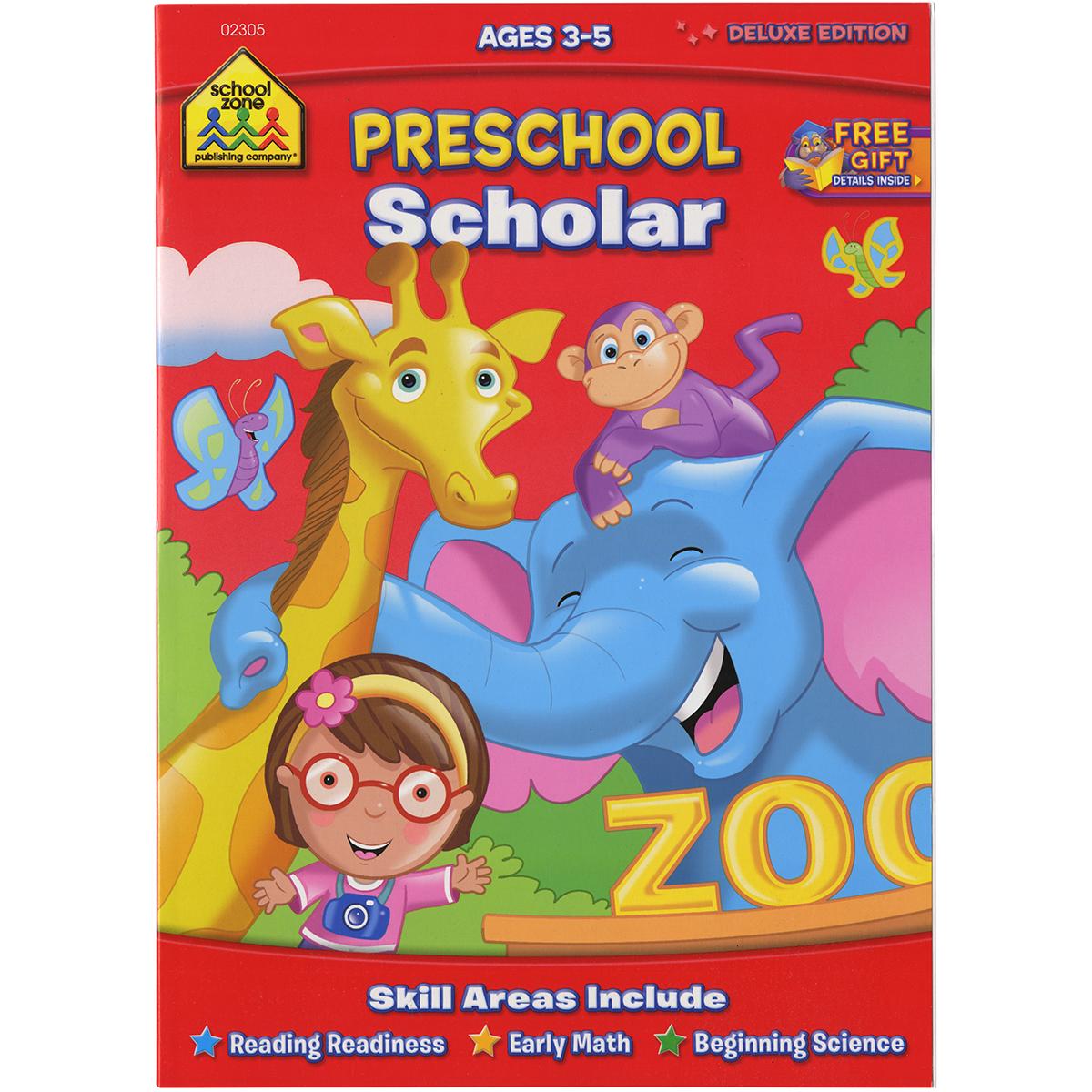Deluxe Scholar Workbook-Preschool Scholar - Ages 3-5