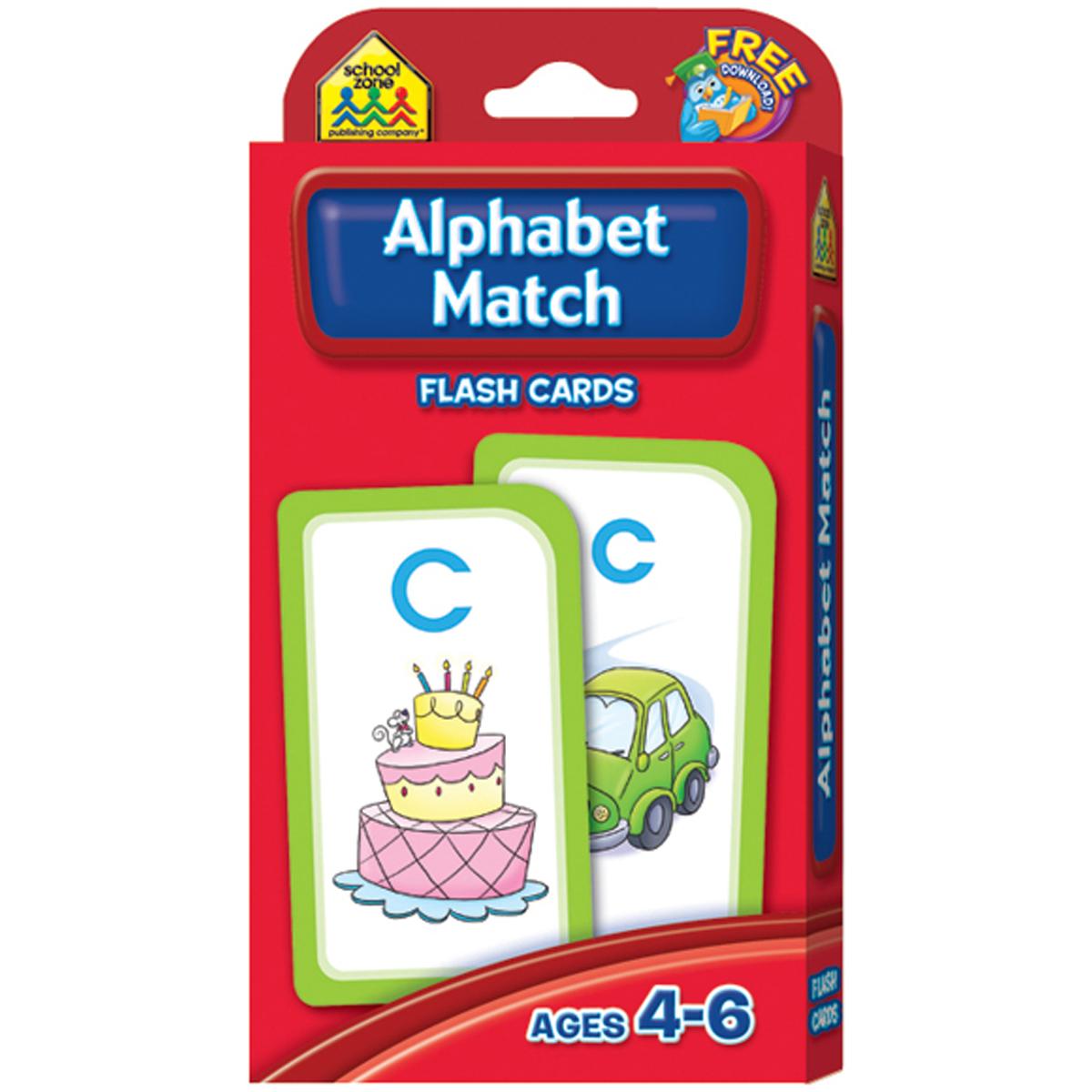 ALPHA MTCH-FLASH CARDS