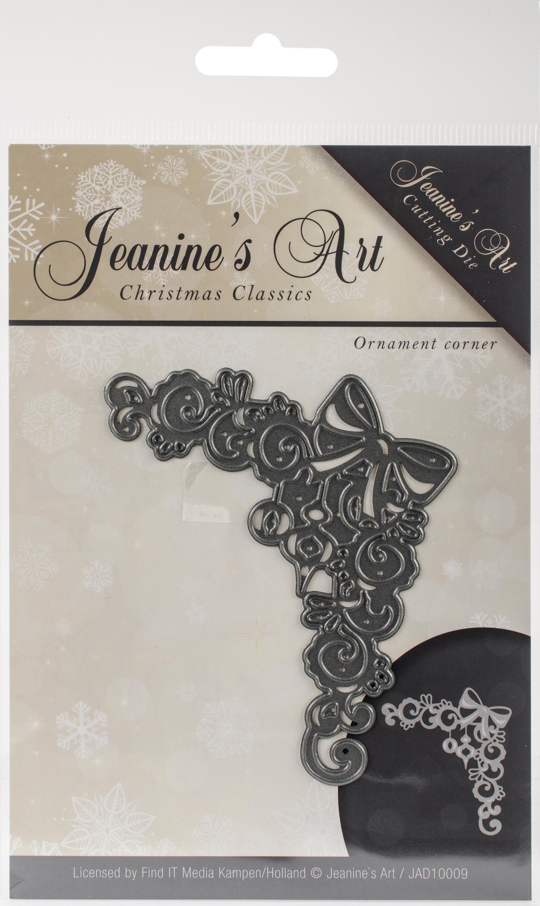 Find It Trading Jeanine's Art Die-Ornament Corner, Christmas Classics