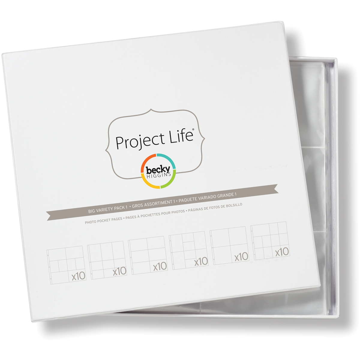 Project Life Photo Pocket Pages 60/Pkg-Big Variety Pack 1