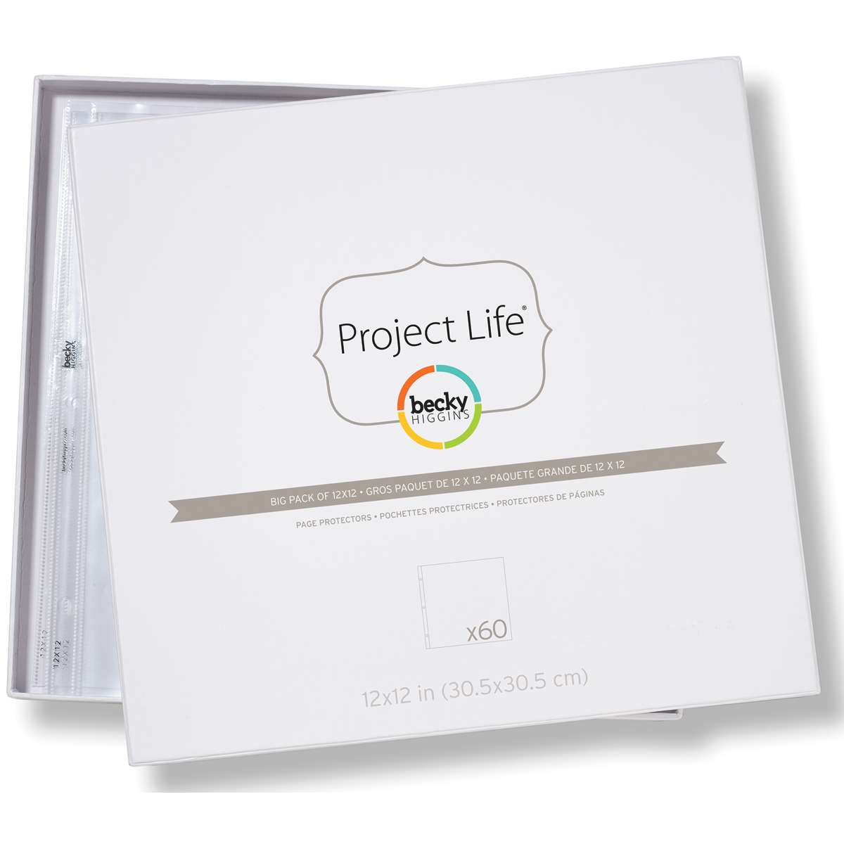 Project Life Page Protectors 12X12 60/Pkg    -