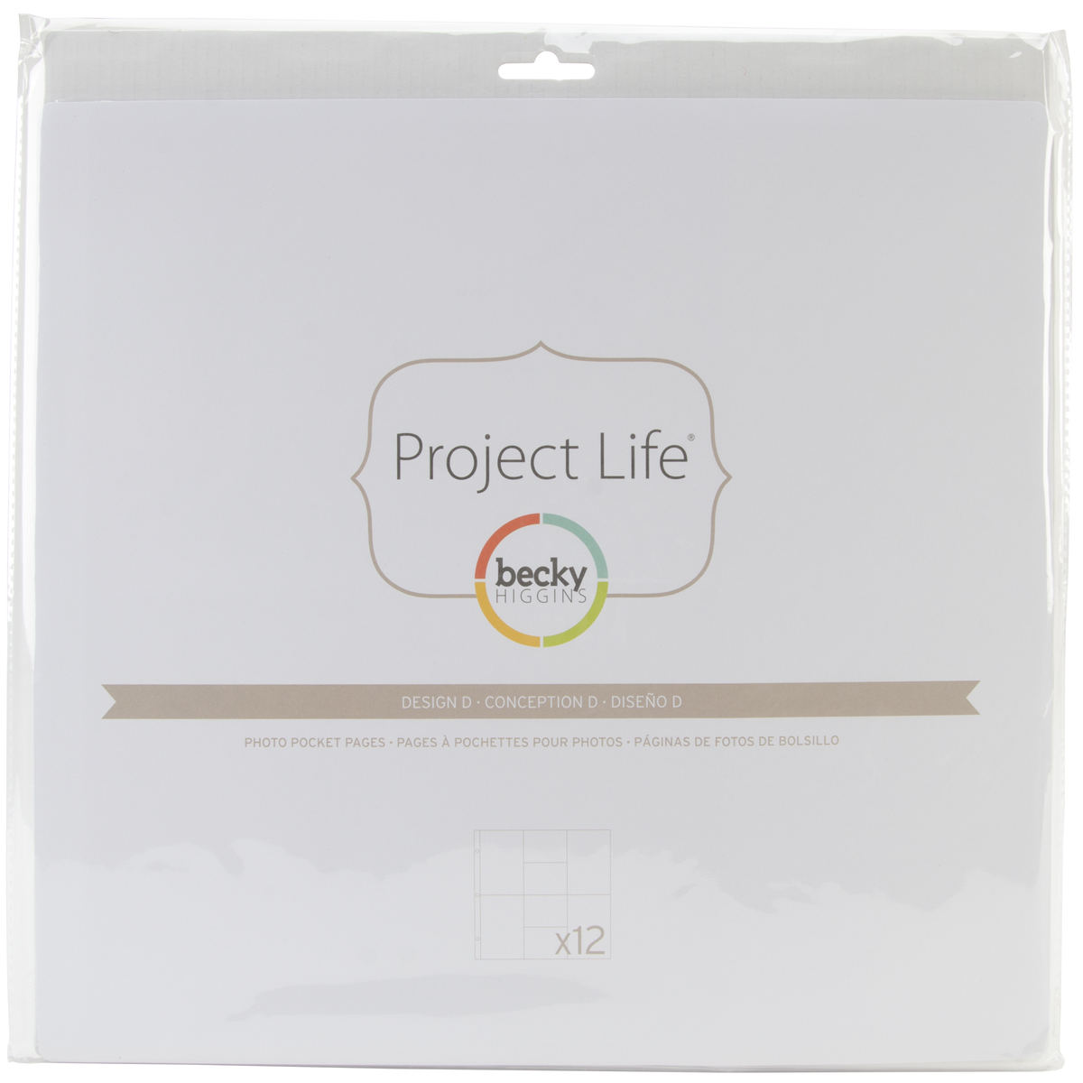 Project Life Photo Pocket Pages 12/Pkg-Design D