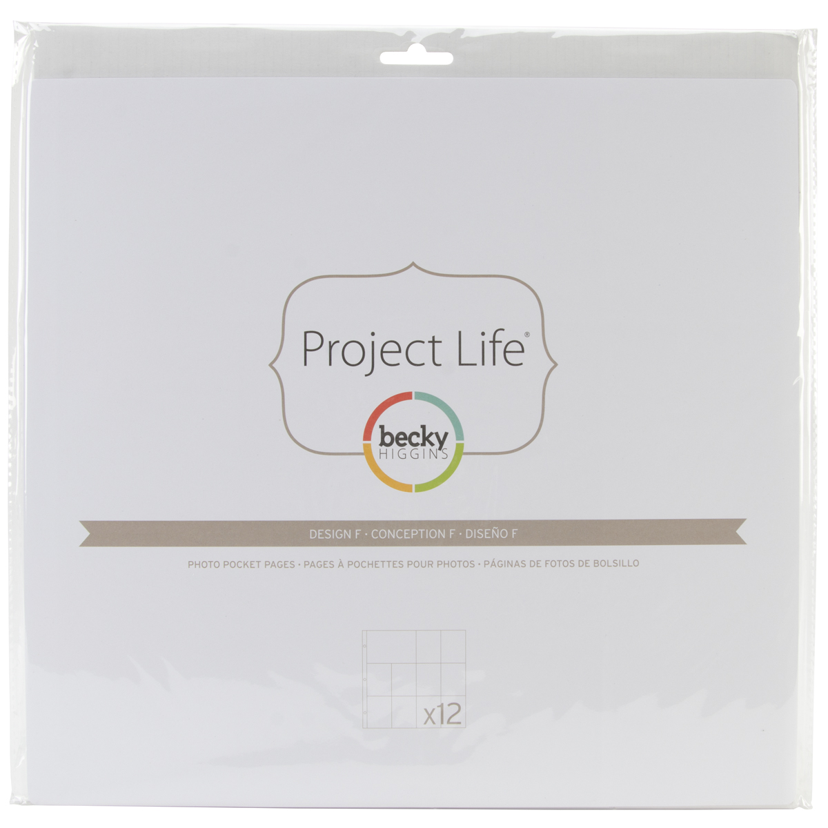 Project Life Photo Pages Design F