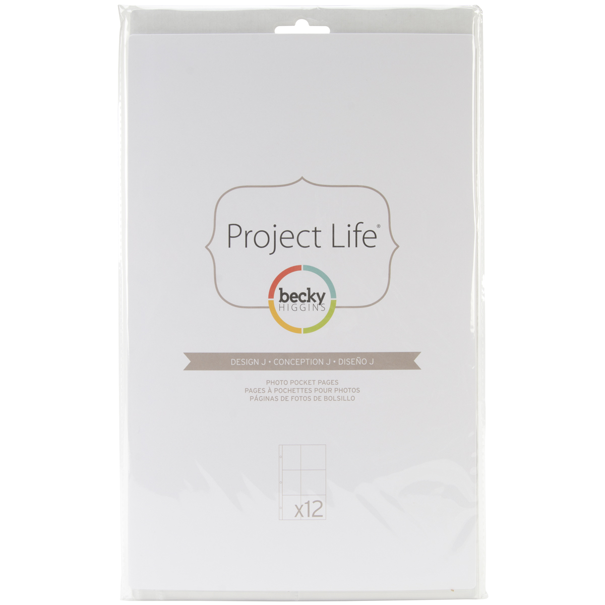 Project Life Photo Pages Design J