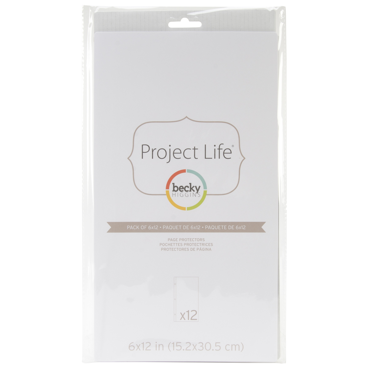 ^Project Life - 6x12 Page Protectors 12/Pack
