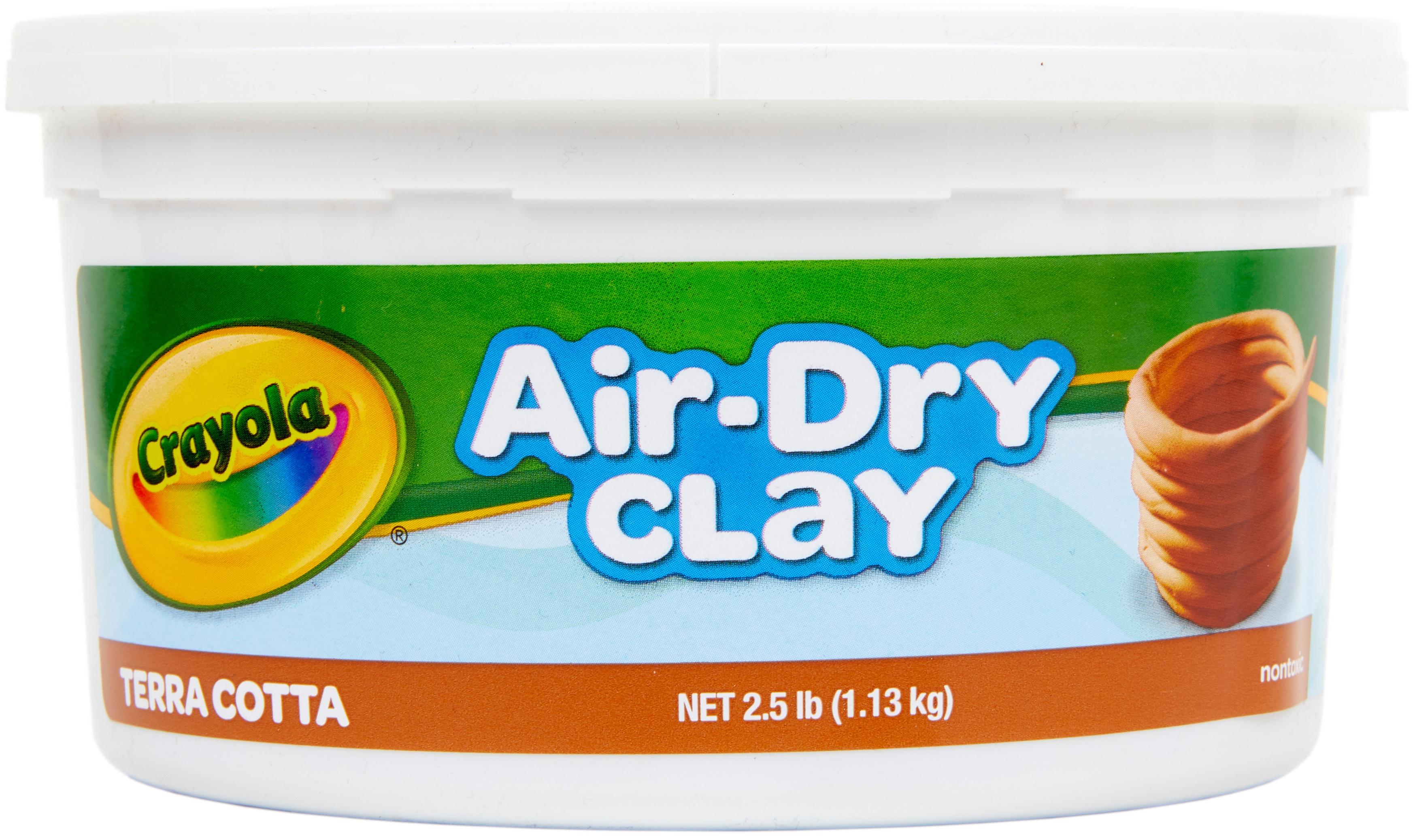Crayola Air-Dry Clay 2.5lb Terra-Cotta