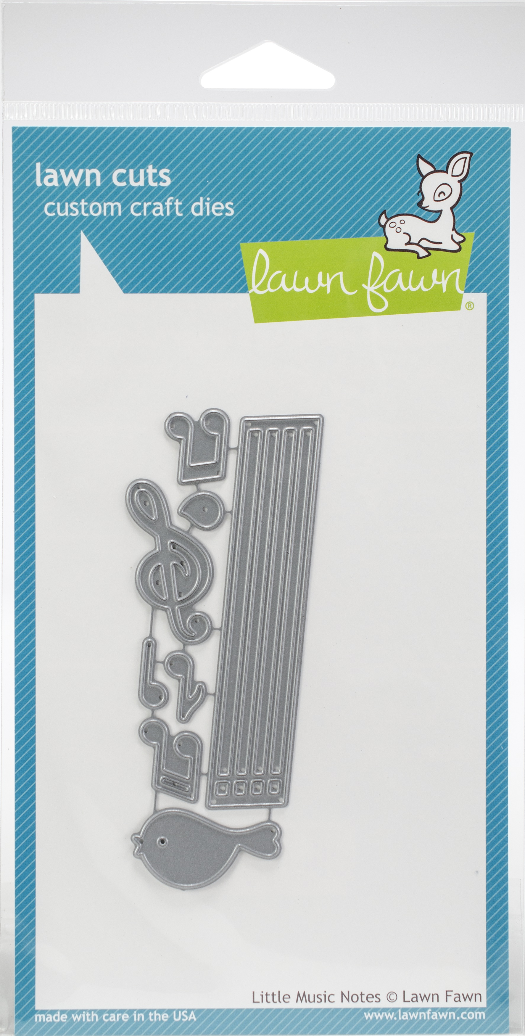 Lawn Cuts Custom Craft Die-Little Music Notes