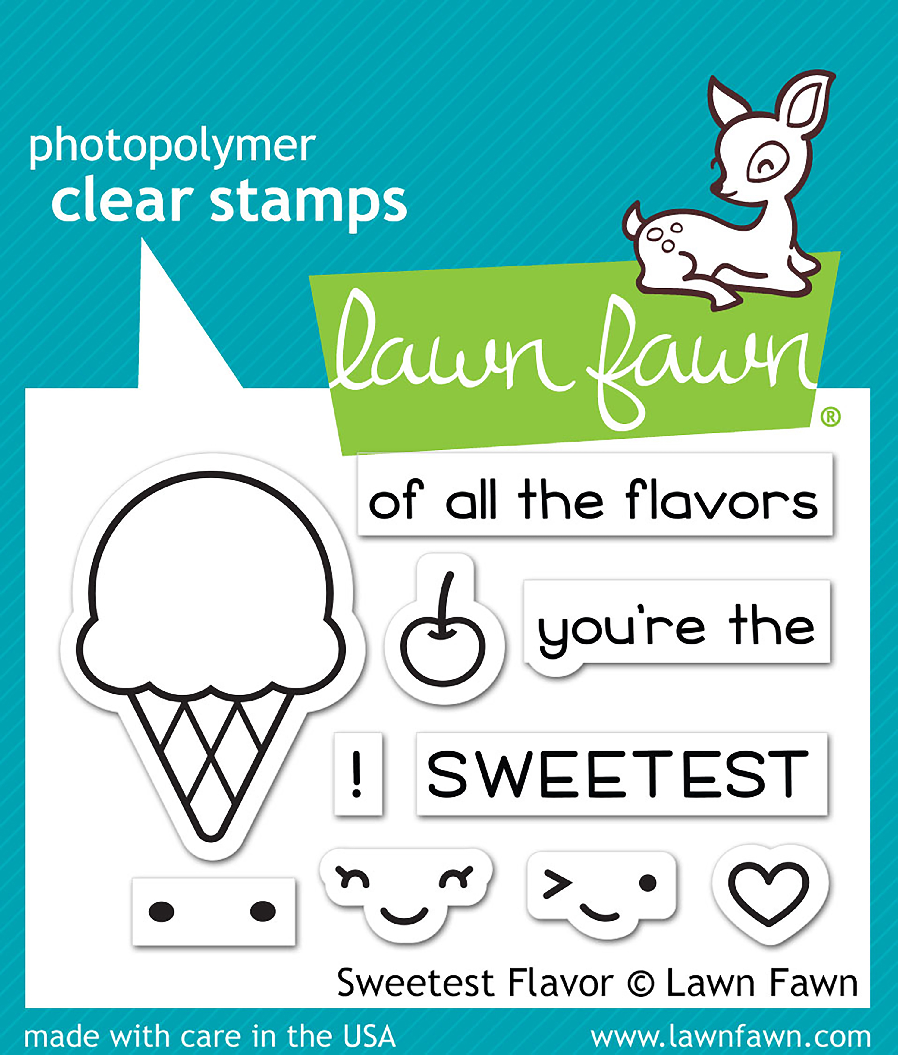 Sweetest Flavor Stamp
