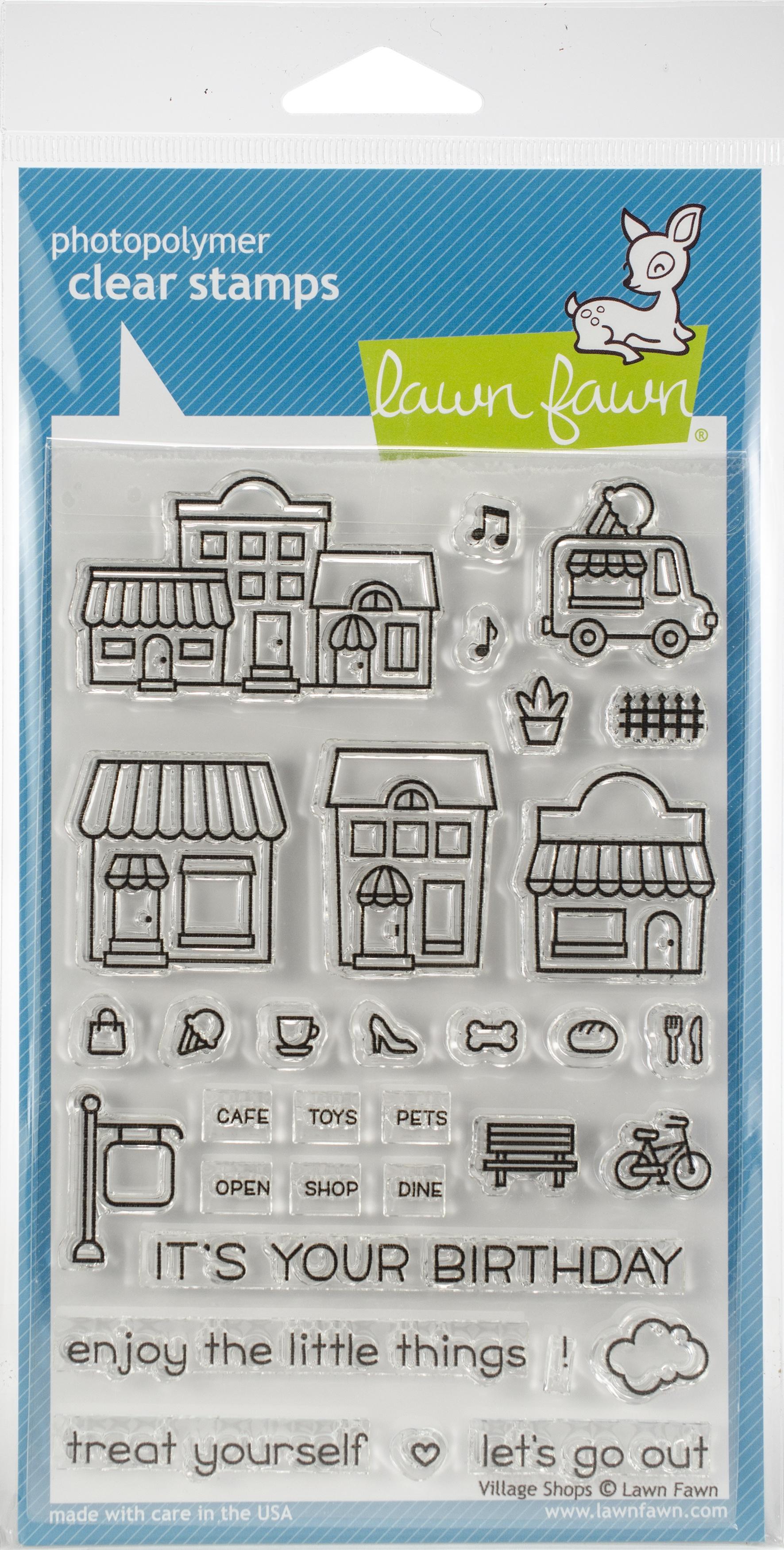 Village Shops Stamp