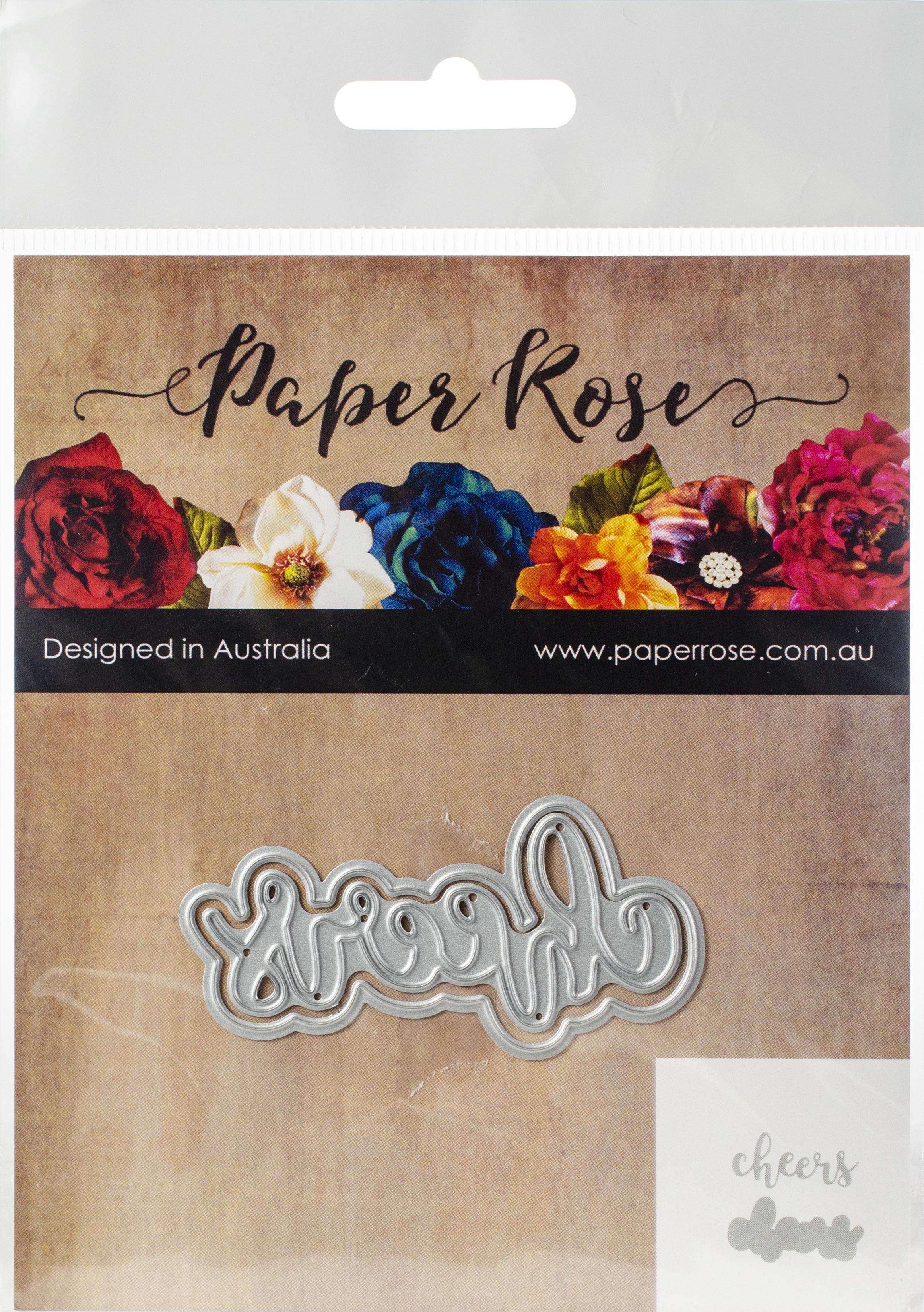 Paper Roses Cheers Die
