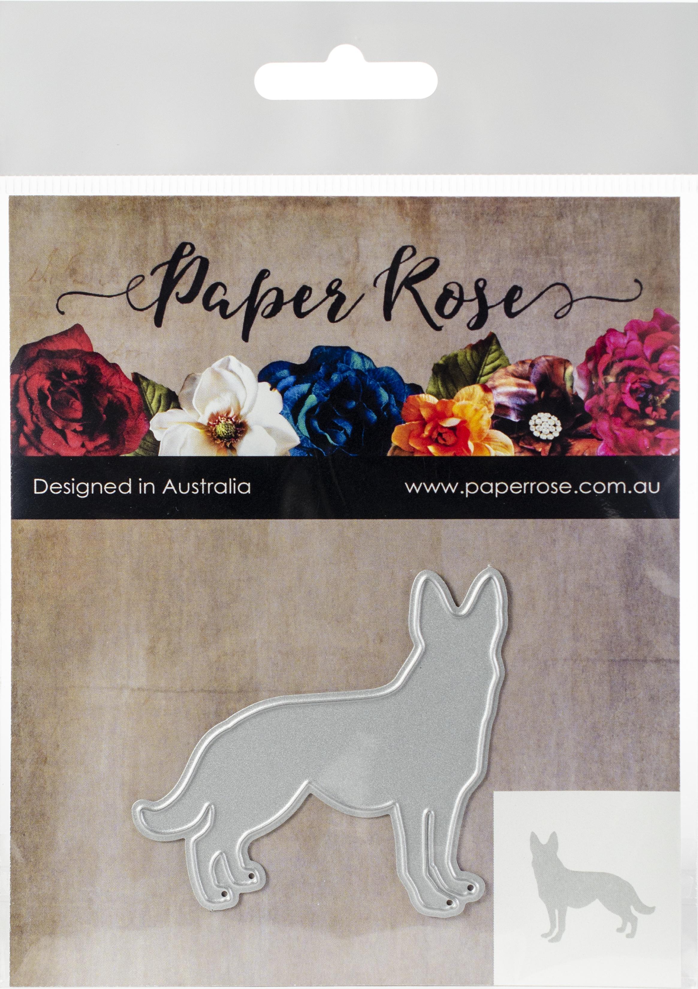 Paper Rose Dies-Standing Dog
