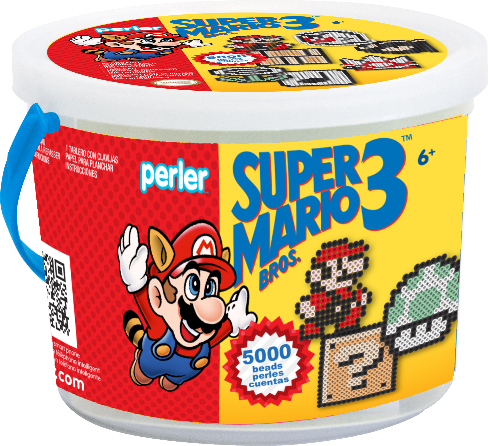 Perler Fused Bead Bucket Kit-Super Mario Bros. 3