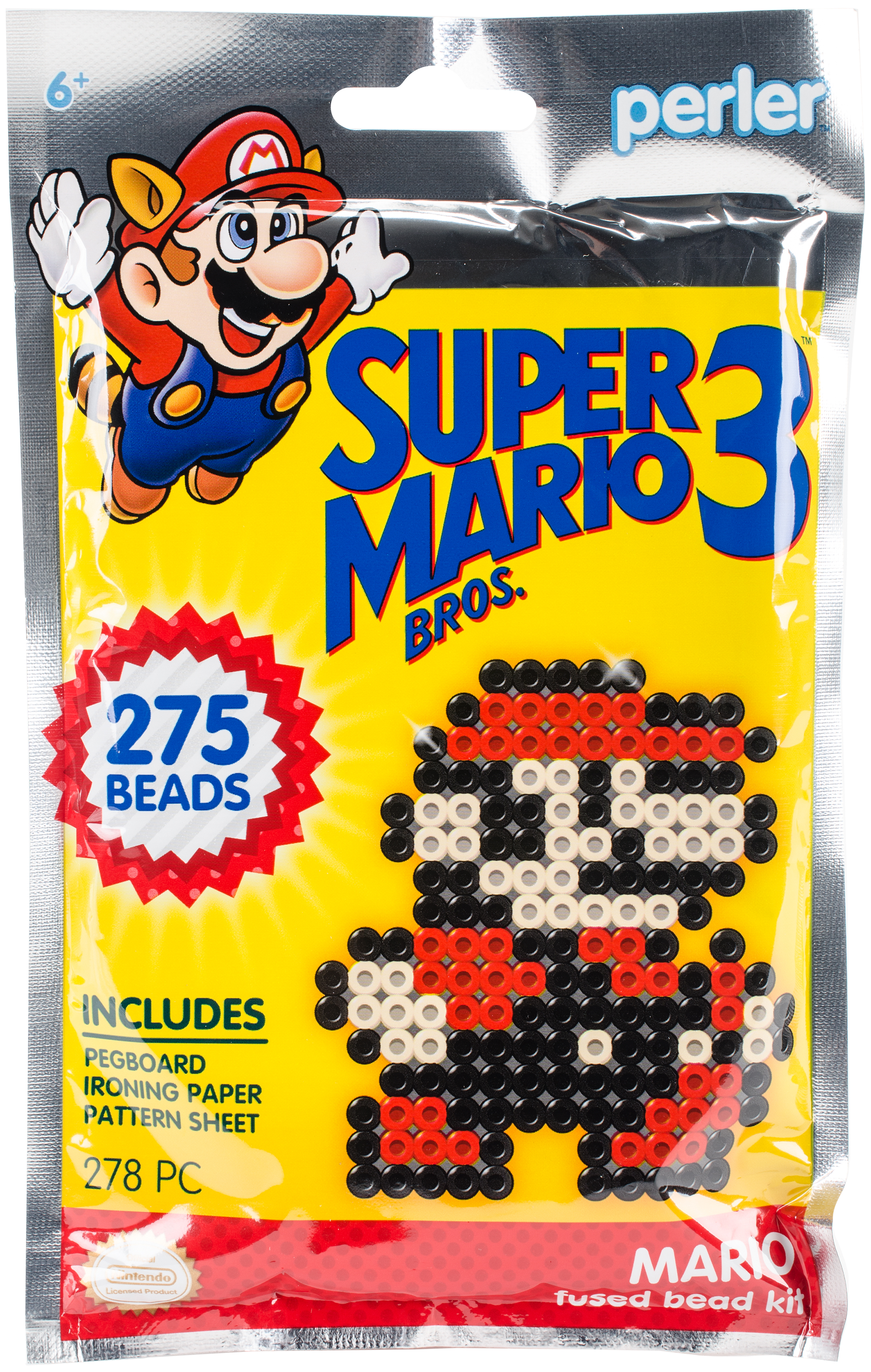 Perler Fused Bead Trial Kit-Super Mario Bros. 3