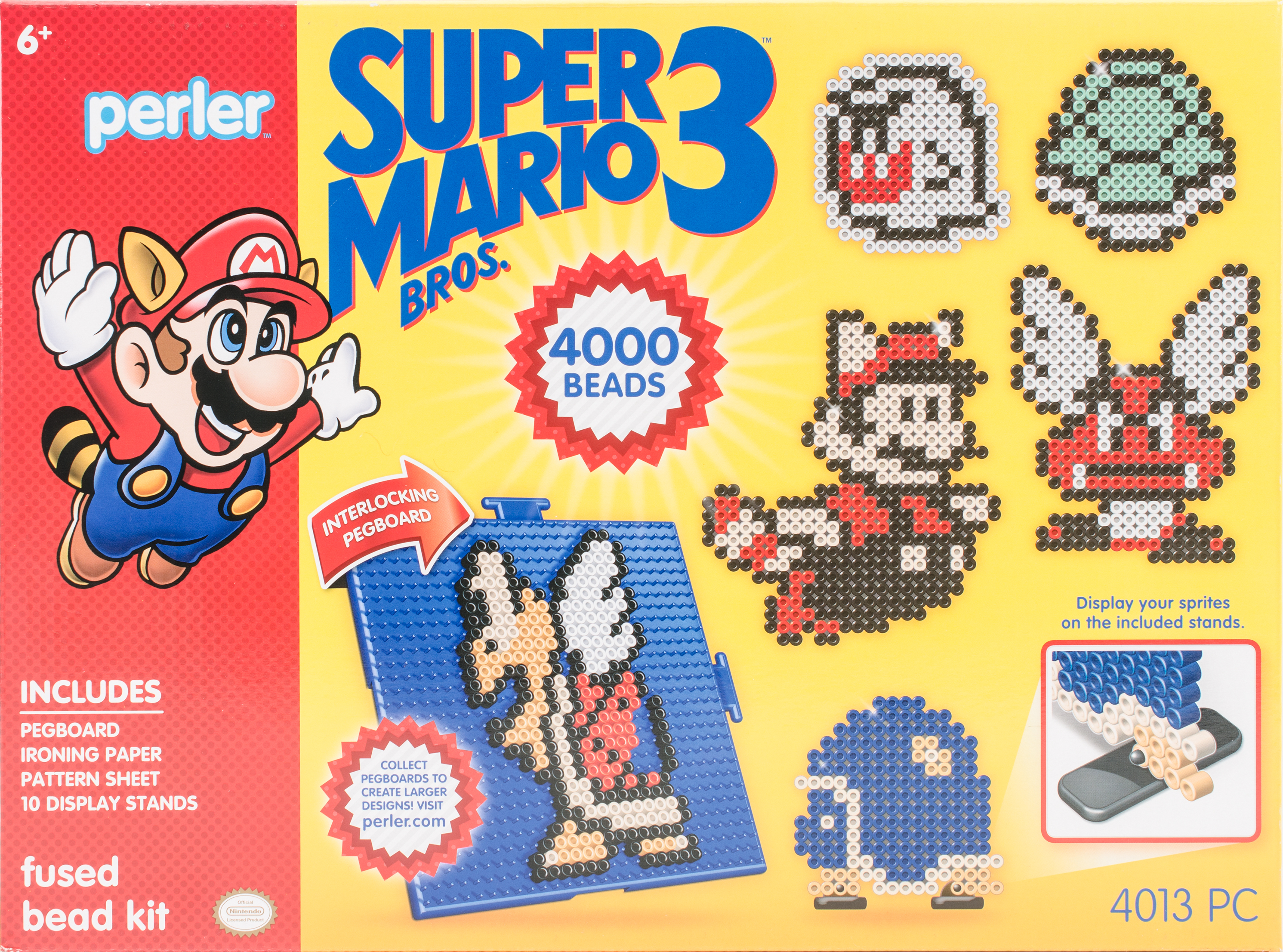 Perler Deluxe Fused Bead Kit-Super Mario Bros. 3