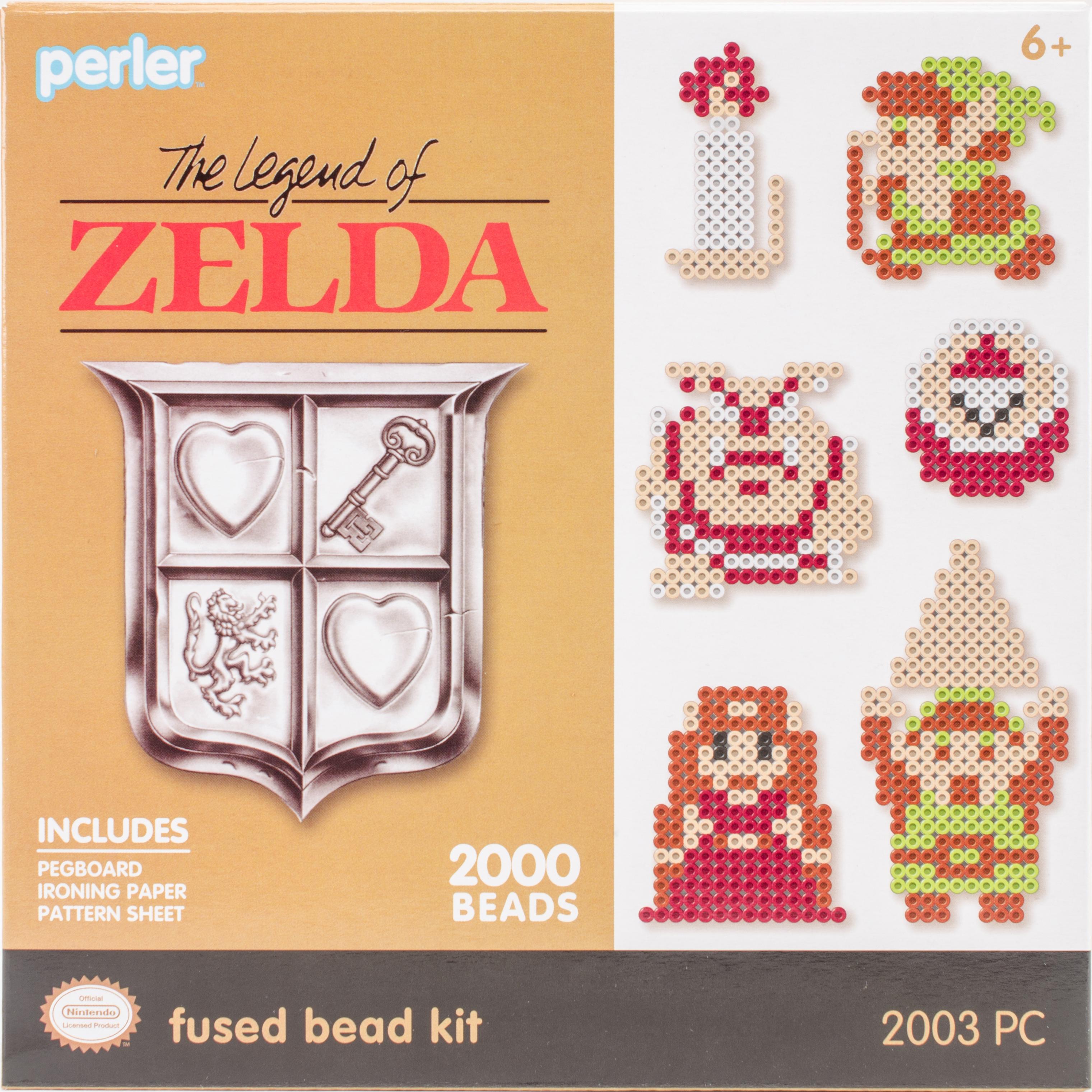 Perler Fused Bead Kit-Legend Of Zelda