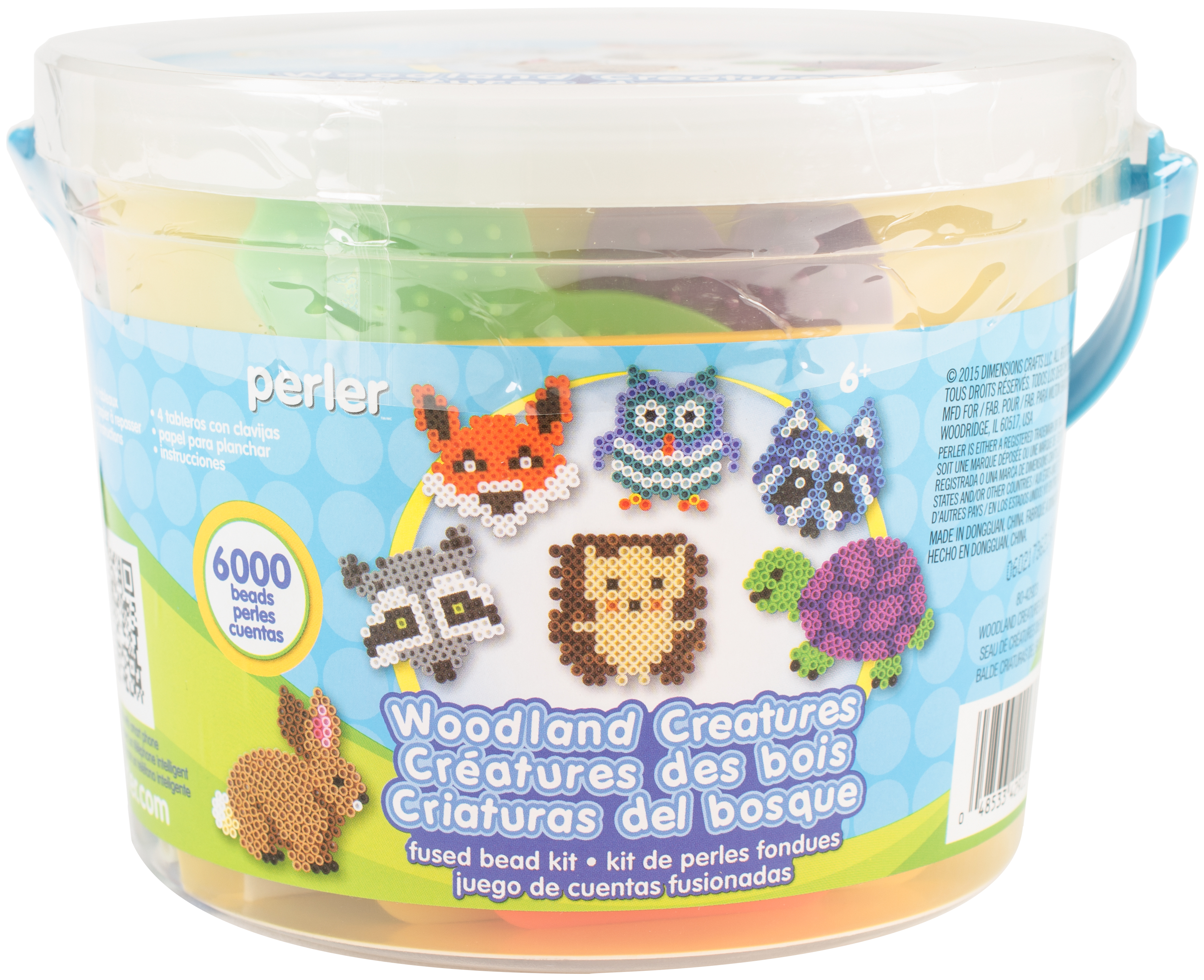 Perler Fused Bead Bucket Kit-Woodland Creatures