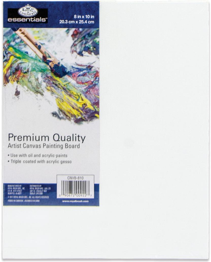 essentials(TM) Premium Canvas Board-8X10