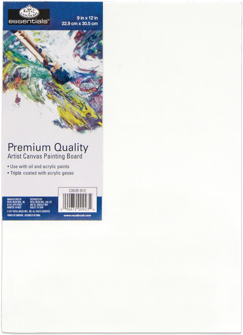 Canvas Board-9X12, Premium