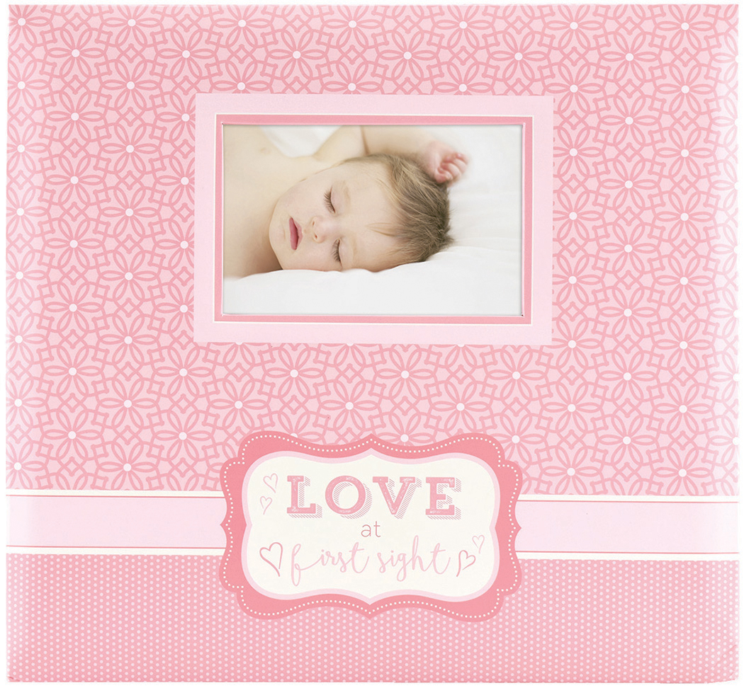 MBI Expressions Post Bound Album W/Window 12x12-Love At First Sight